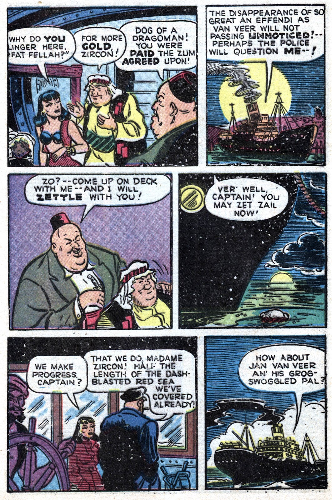 Read online Famous Funnies comic -  Issue #164 - 8