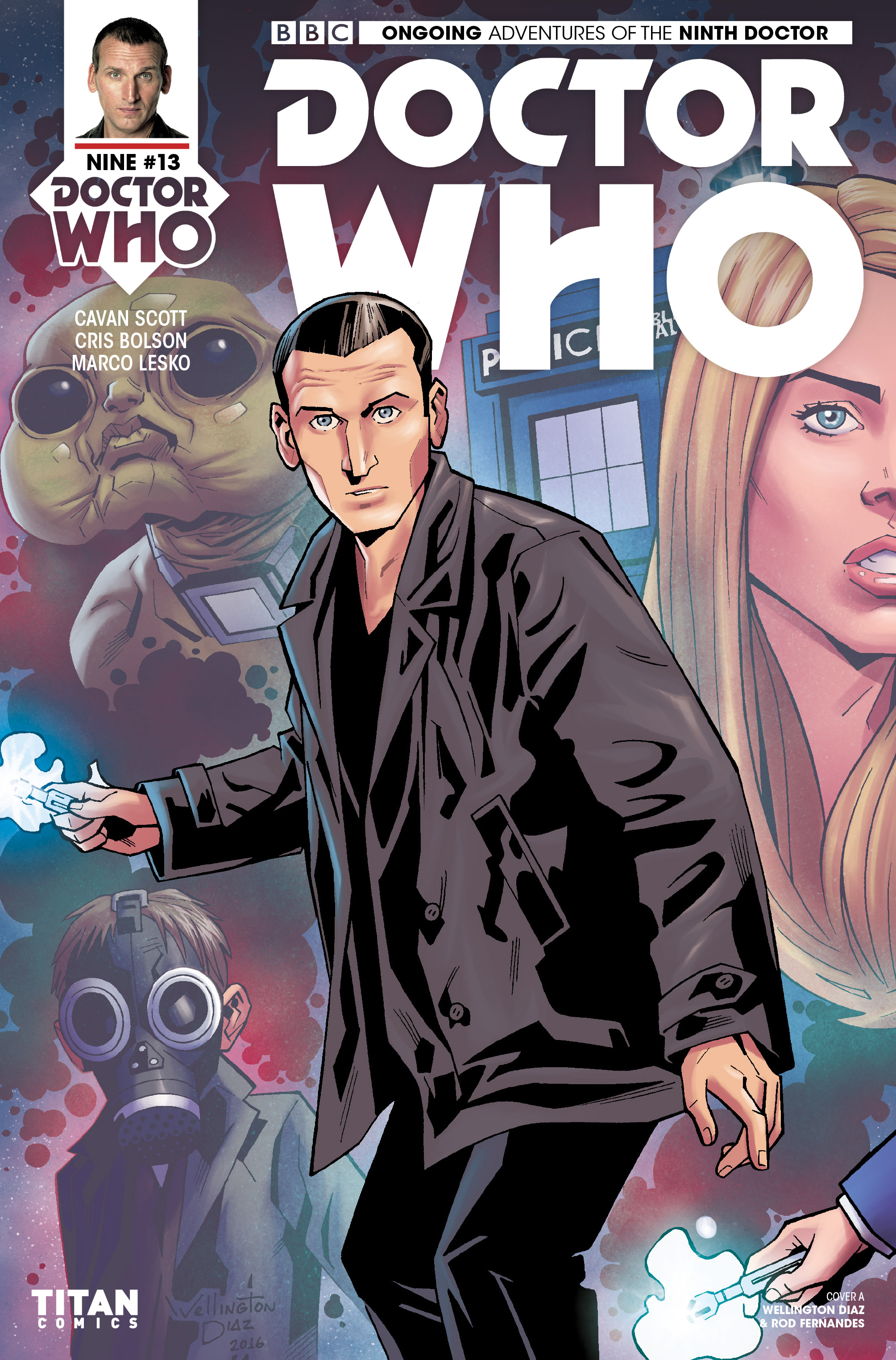 Read online Doctor Who: The Ninth Doctor (2016) comic -  Issue #13 - 1