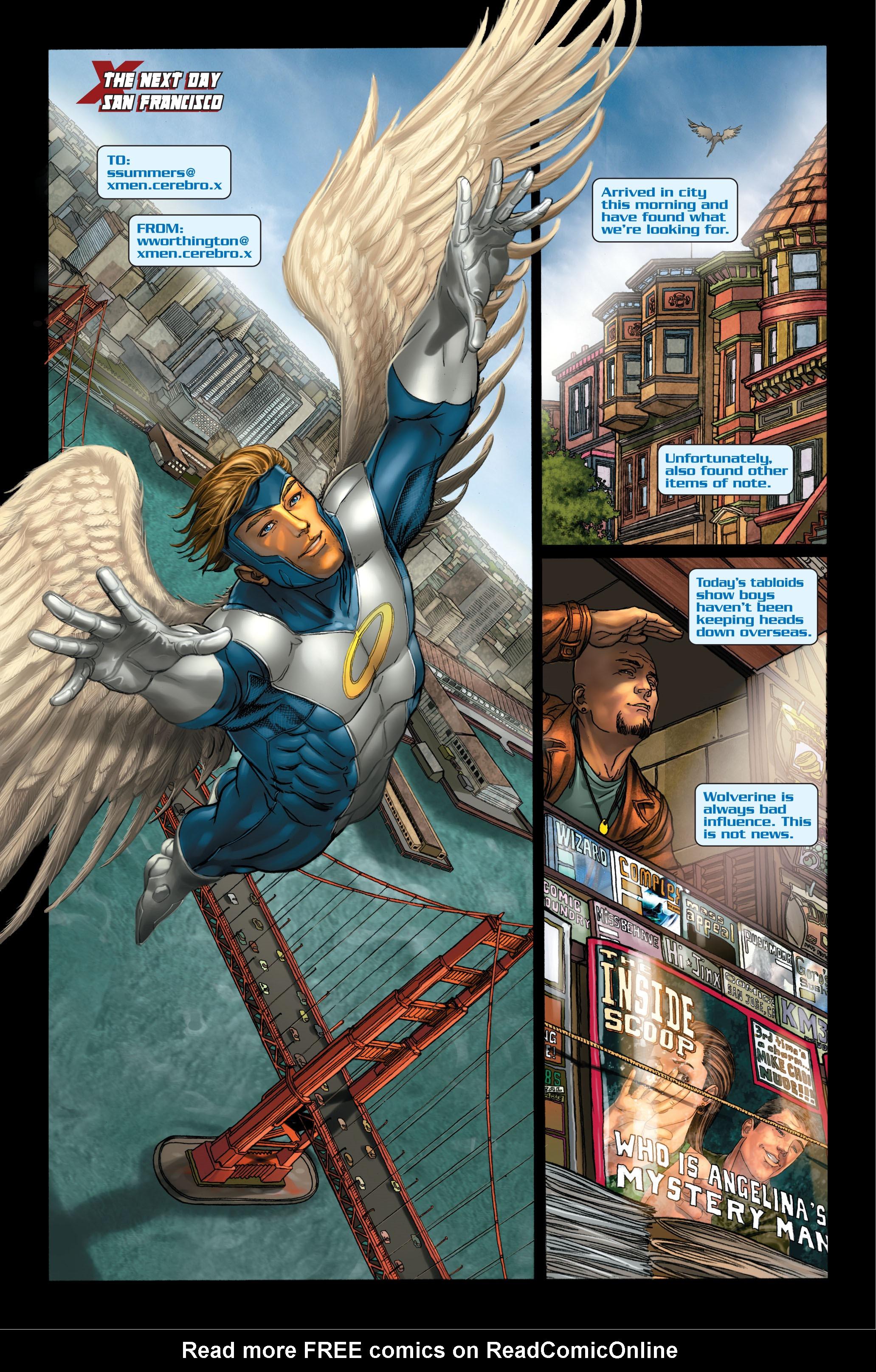 Read online Uncanny X-Men (1963) comic -  Issue #495 - 21
