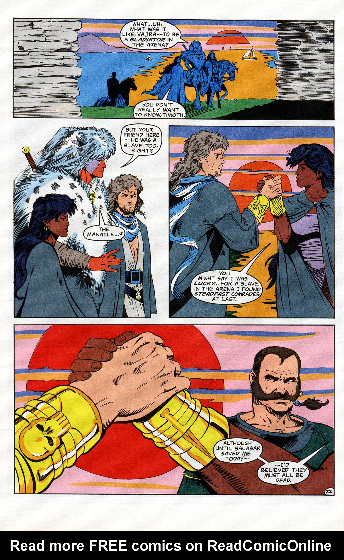 Read online Advanced Dungeons & Dragons comic -  Issue #13 - 27