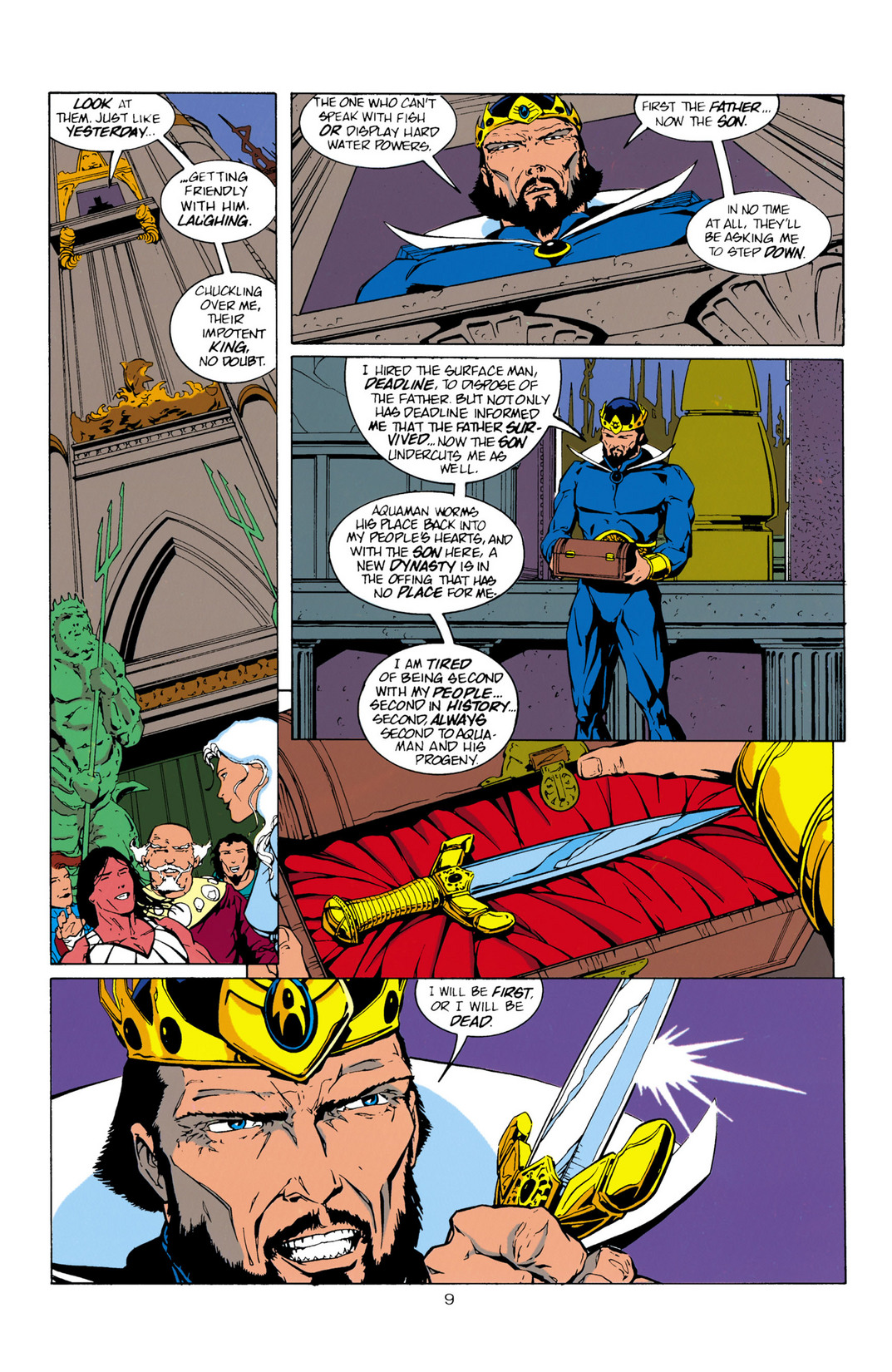 Read online Aquaman (1994) comic -  Issue #10 - 10