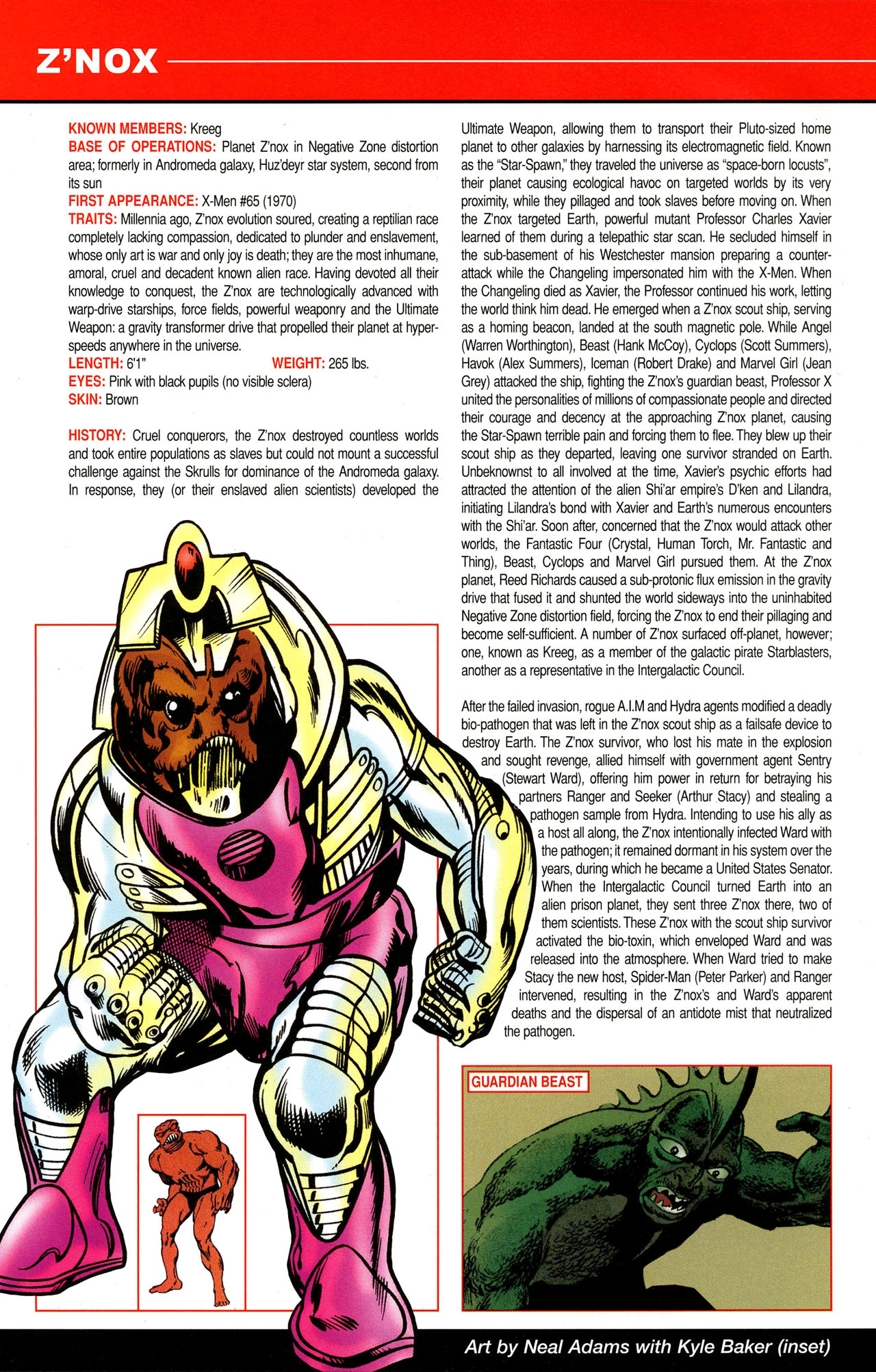 Read online All-New Official Handbook of the Marvel Universe A to Z comic -  Issue #12 - 58