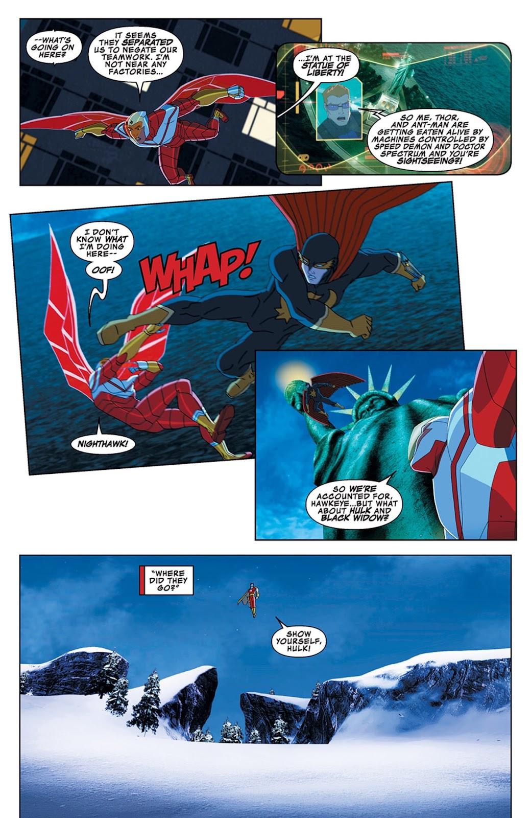 Read online Marvel Universe Avengers Assemble Season 2 comic -  Issue #13 - 8