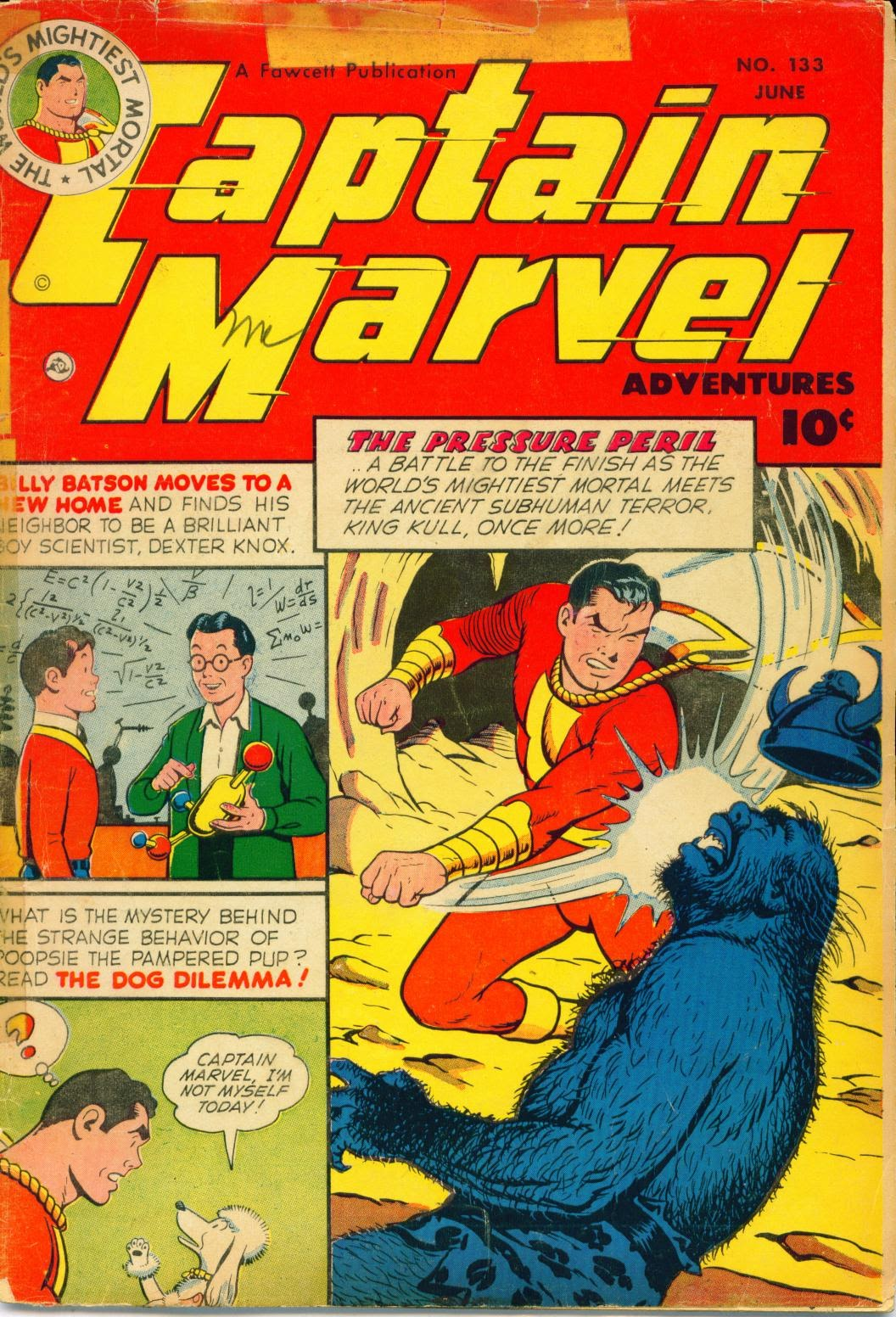 Captain Marvel Adventures 133 Page 1