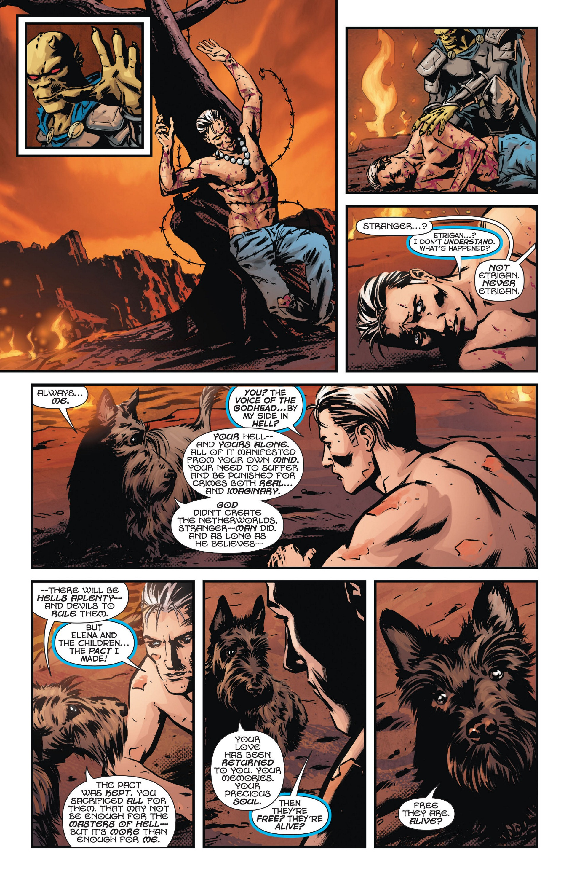 Read online Trinity of Sin: The Phantom Stranger comic -  Issue #9 - 20
