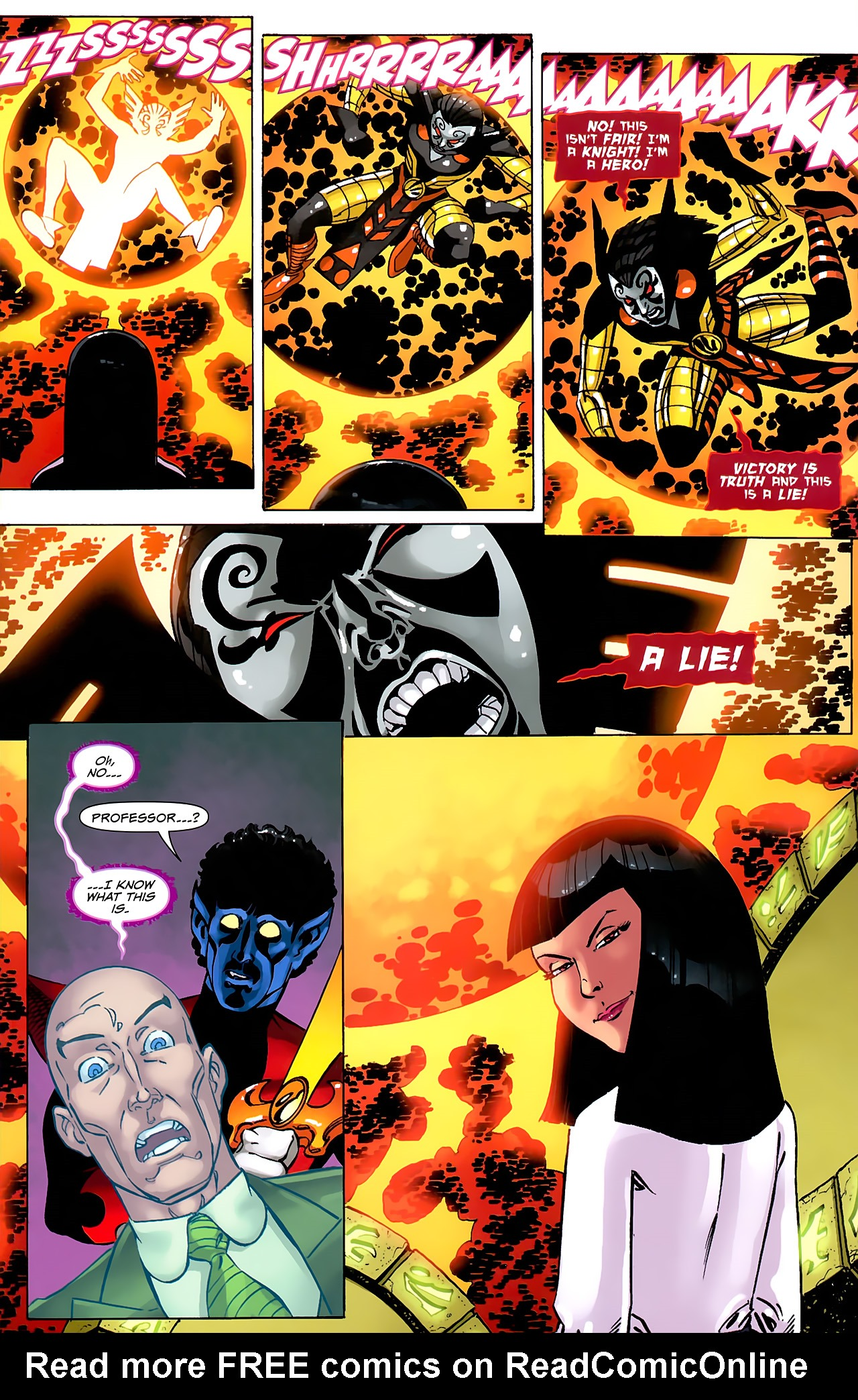 Read online Uncanny X-Men: First Class comic -  Issue #6 - 15