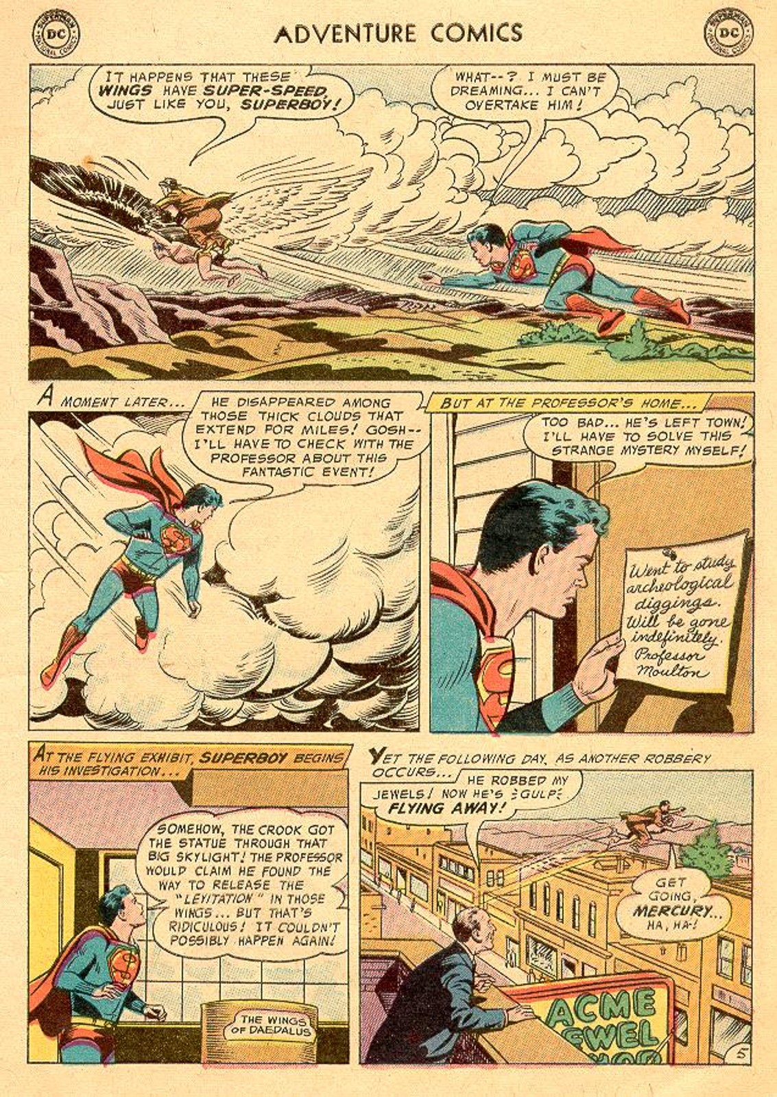 Read online Adventure Comics (1938) comic -  Issue #226 - 7