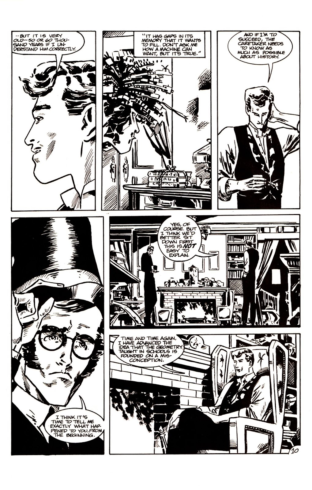 The Time Machine issue 1 - Page 12
