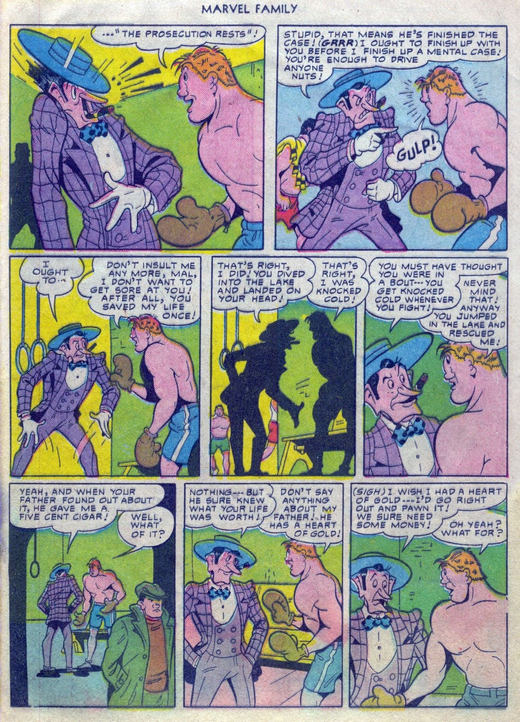 The Marvel Family issue 52 - Page 24