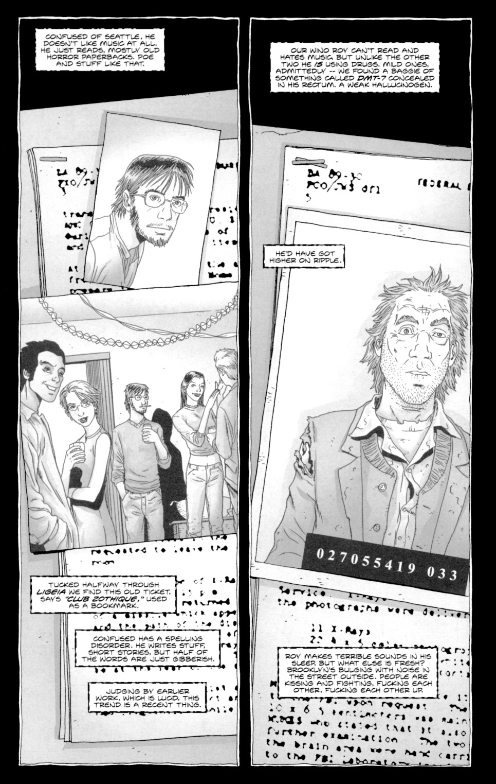 Read online Alan Moore's The Courtyard comic -  Issue #1 - 12