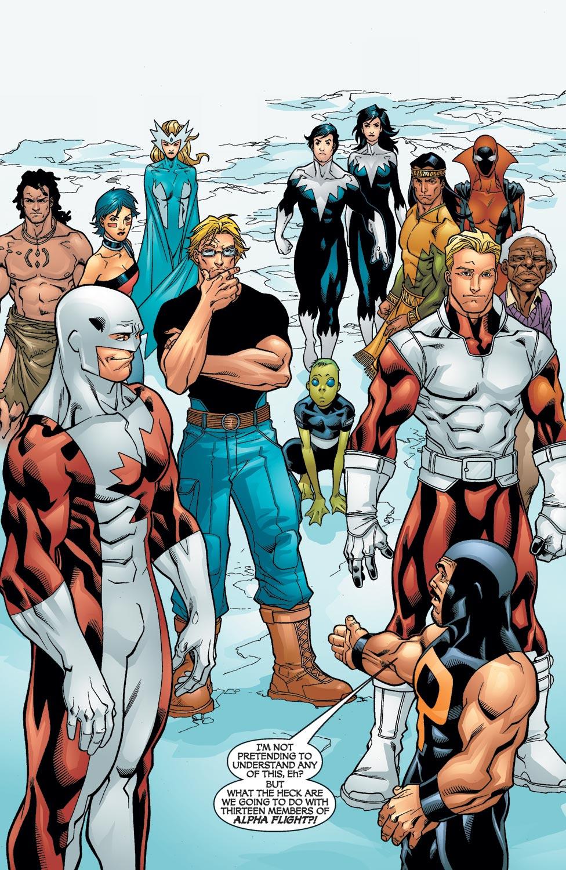 Read online Alpha Flight (2004) comic -  Issue #12 - 21