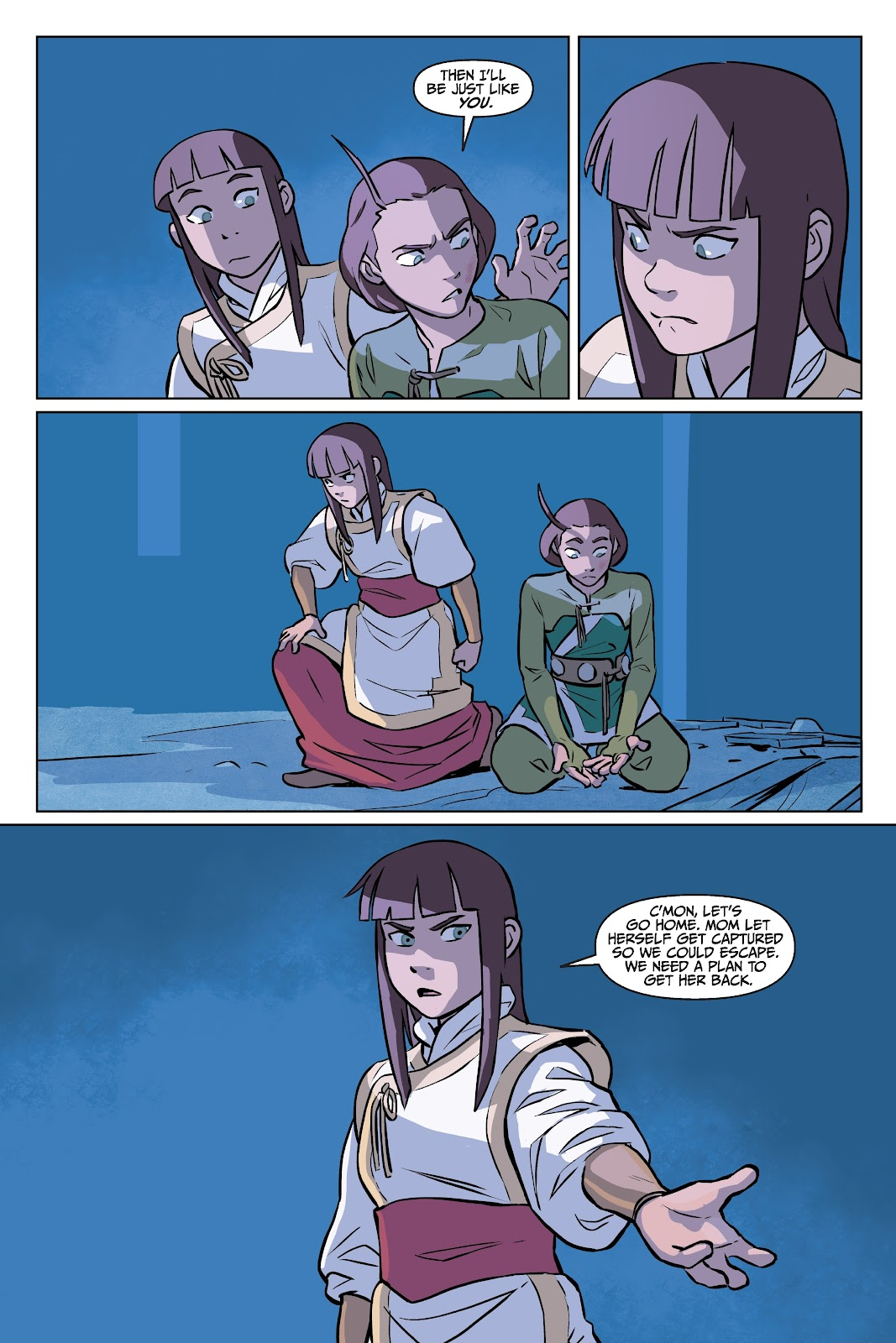 Read online Nickelodeon Avatar: The Last Airbender - Imbalance comic -  Issue # TPB 2 - 74