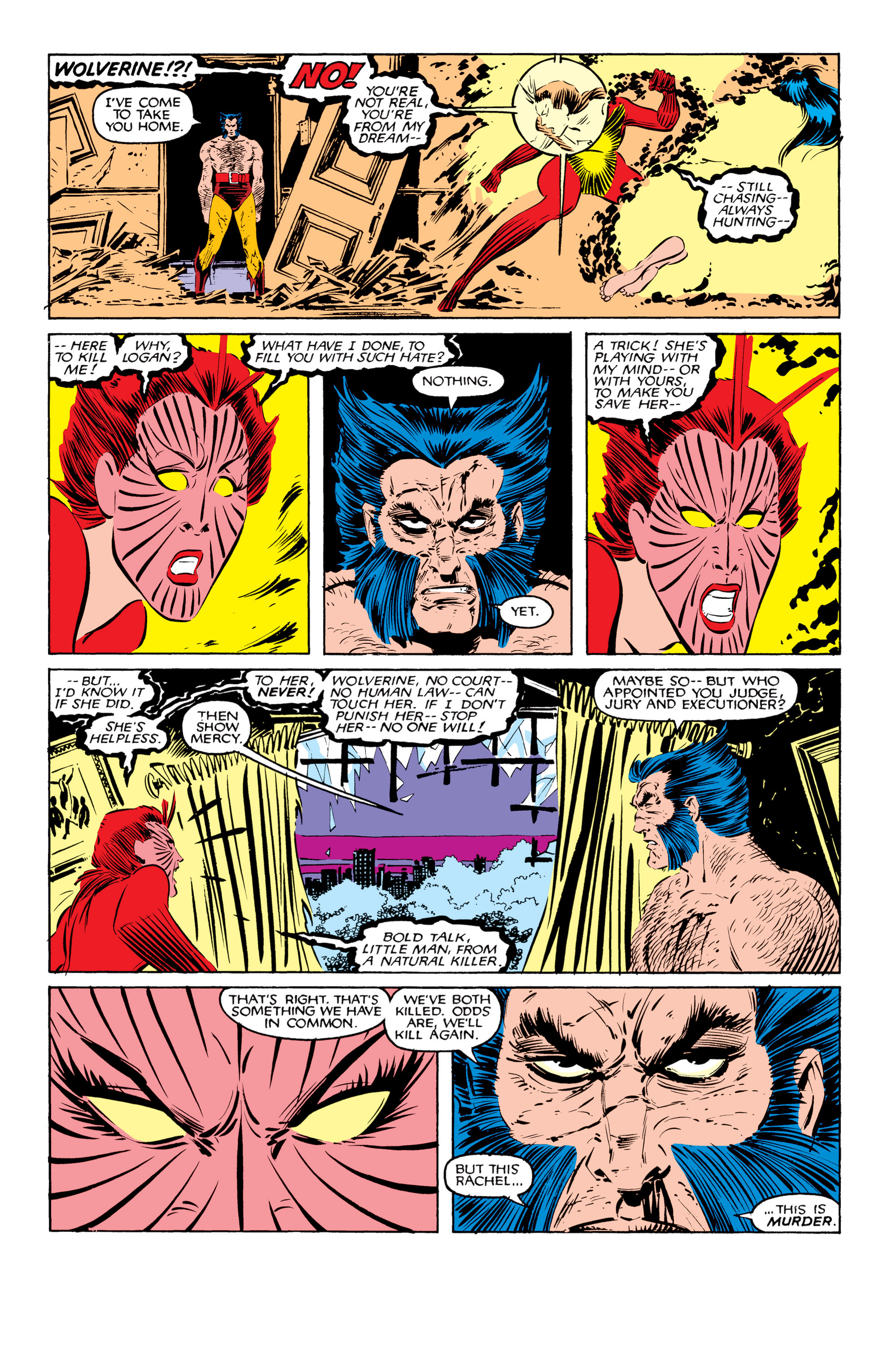Read online Uncanny X-Men (1963) comic -  Issue #207 - 24
