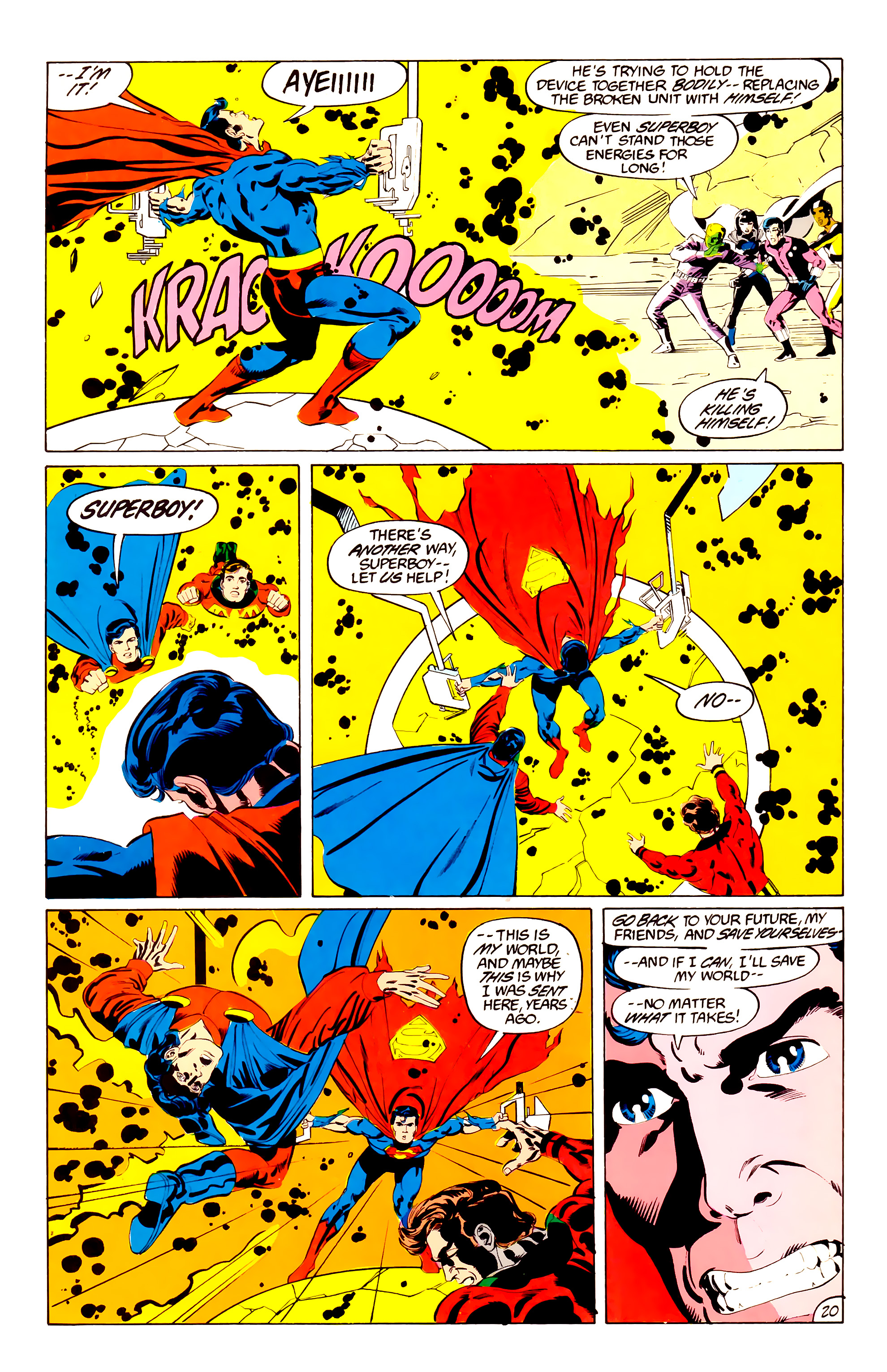 Legion of Super-Heroes (1984) 38 Page 20