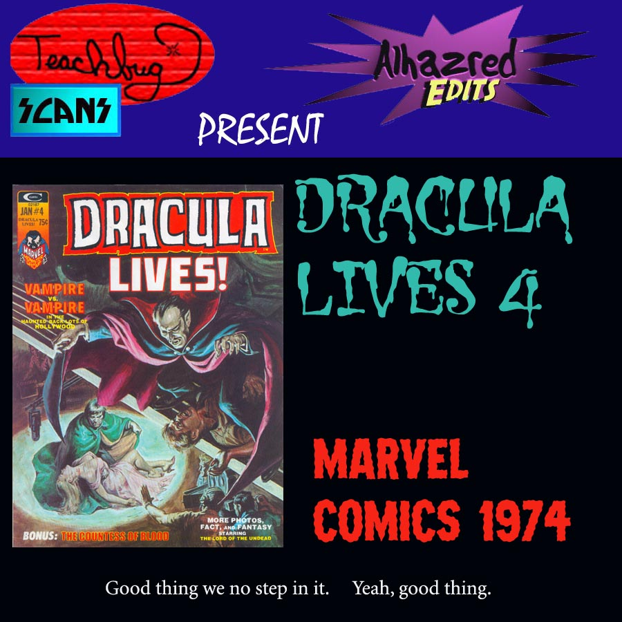 Dracula Lives 4 Page 1