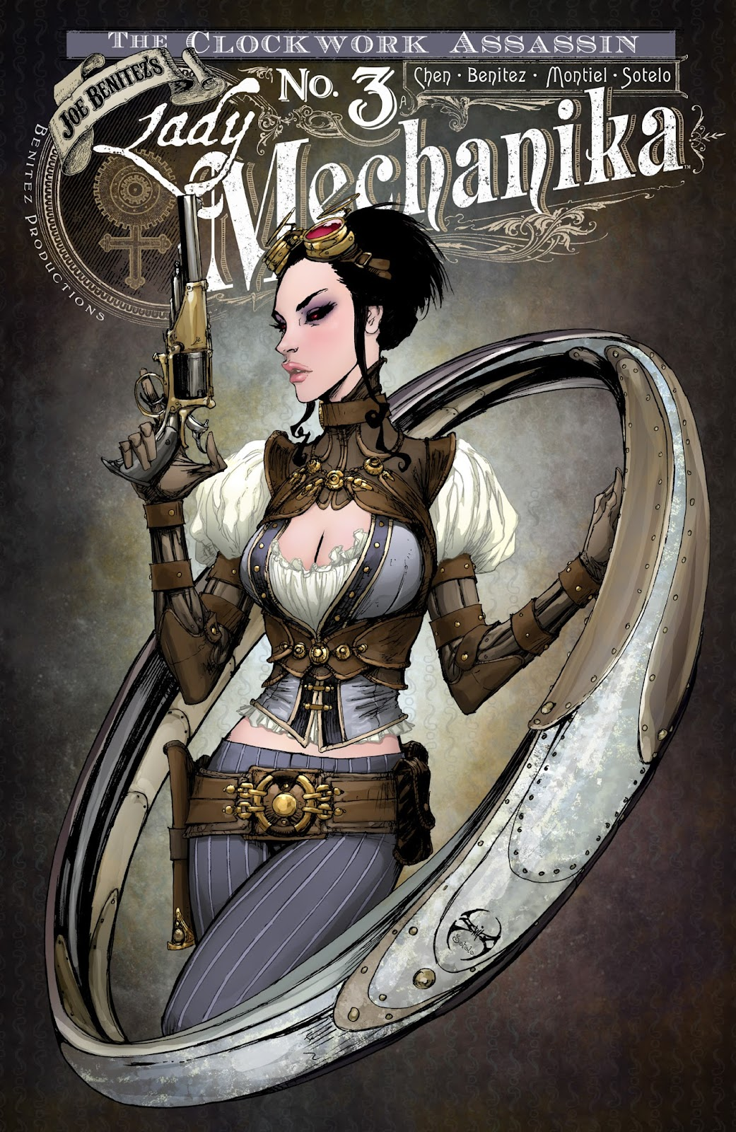 Lady Mechanika: The Clockwork Assassin issue 3 - Page 1