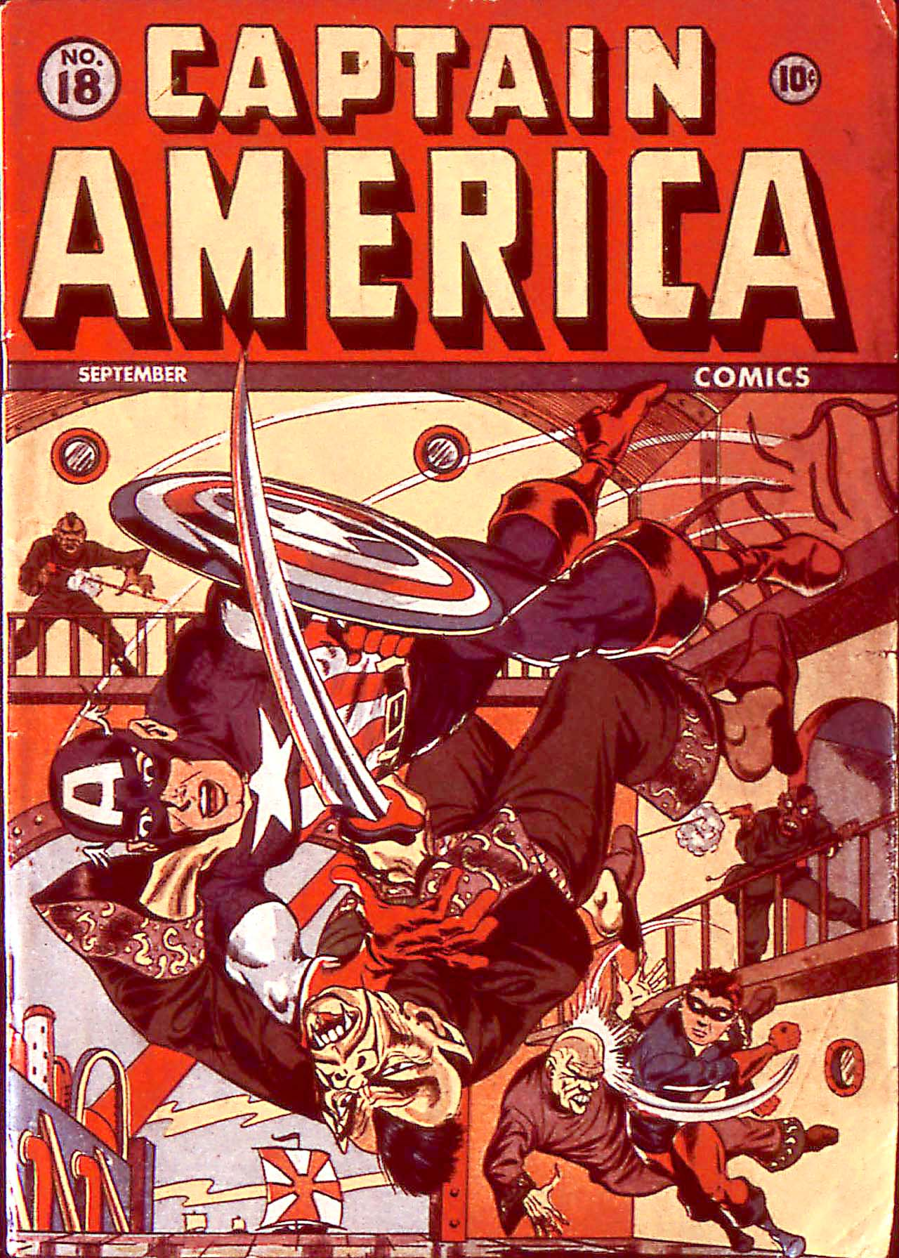 Captain America Comics 18 Page 1