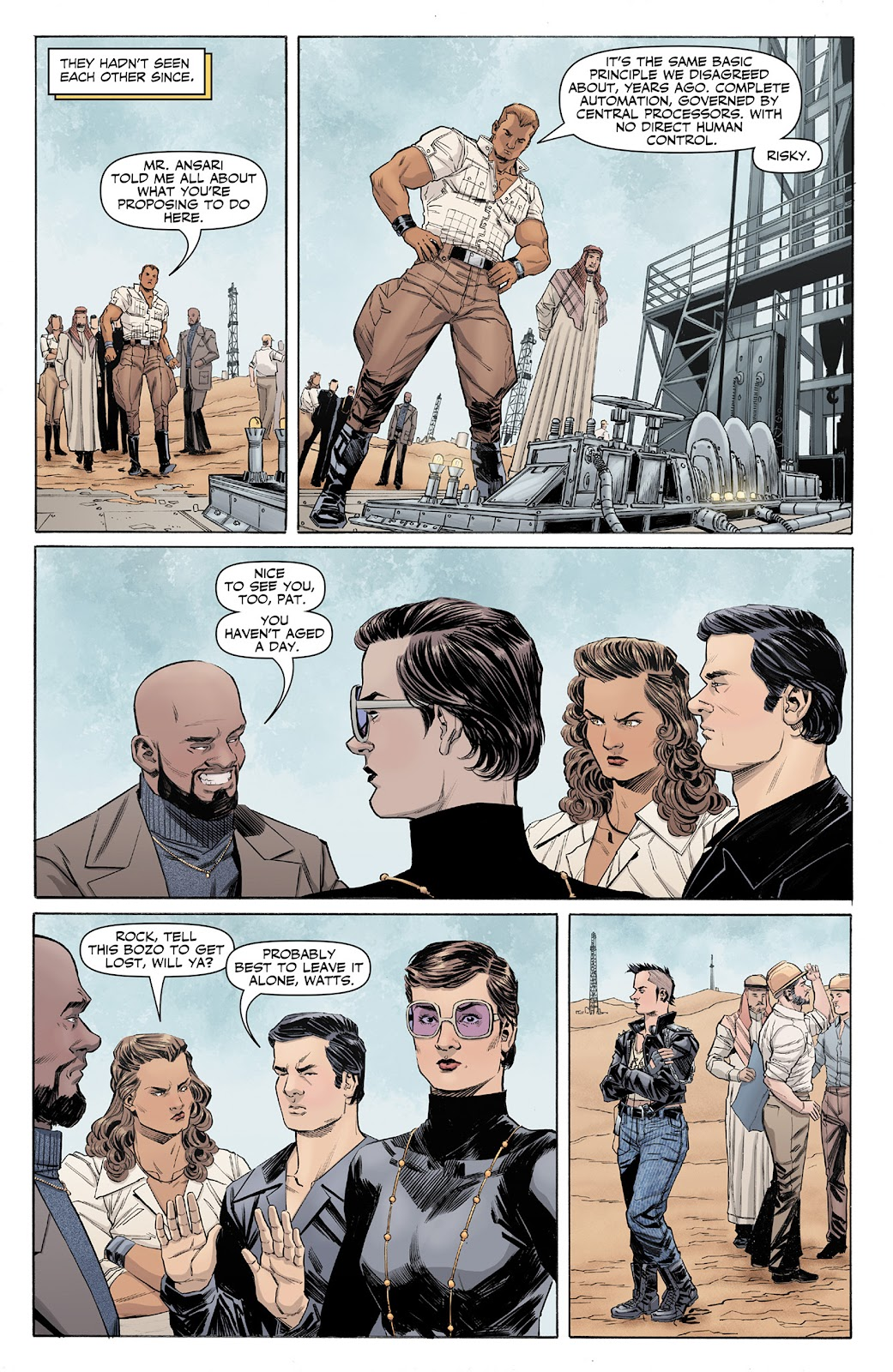 Doc Savage (2013) issue 4 - Page 6