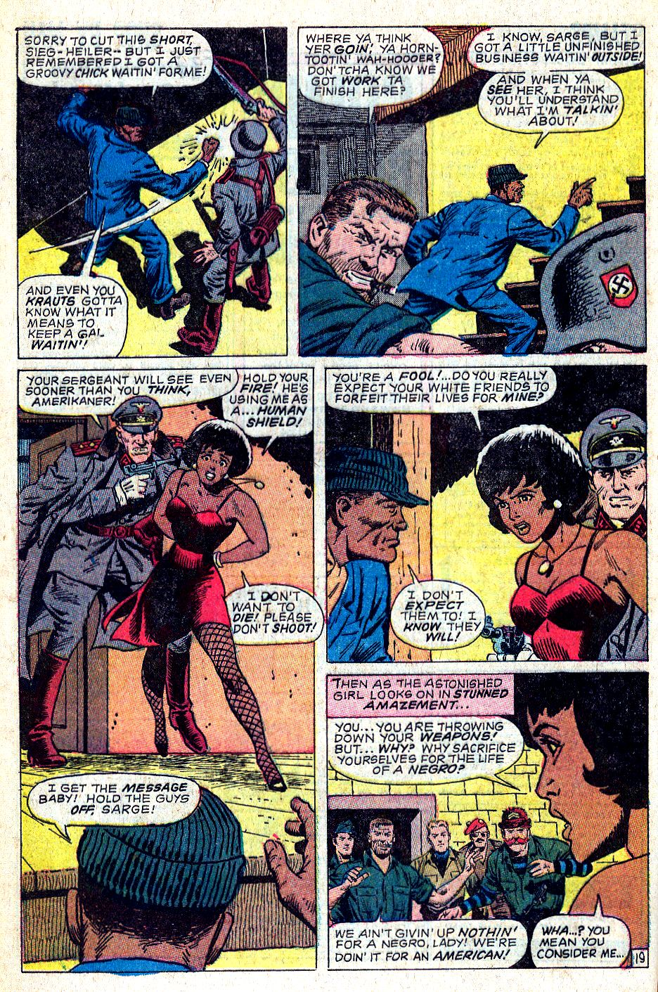 Read online Sgt. Fury comic -  Issue #56 - 28