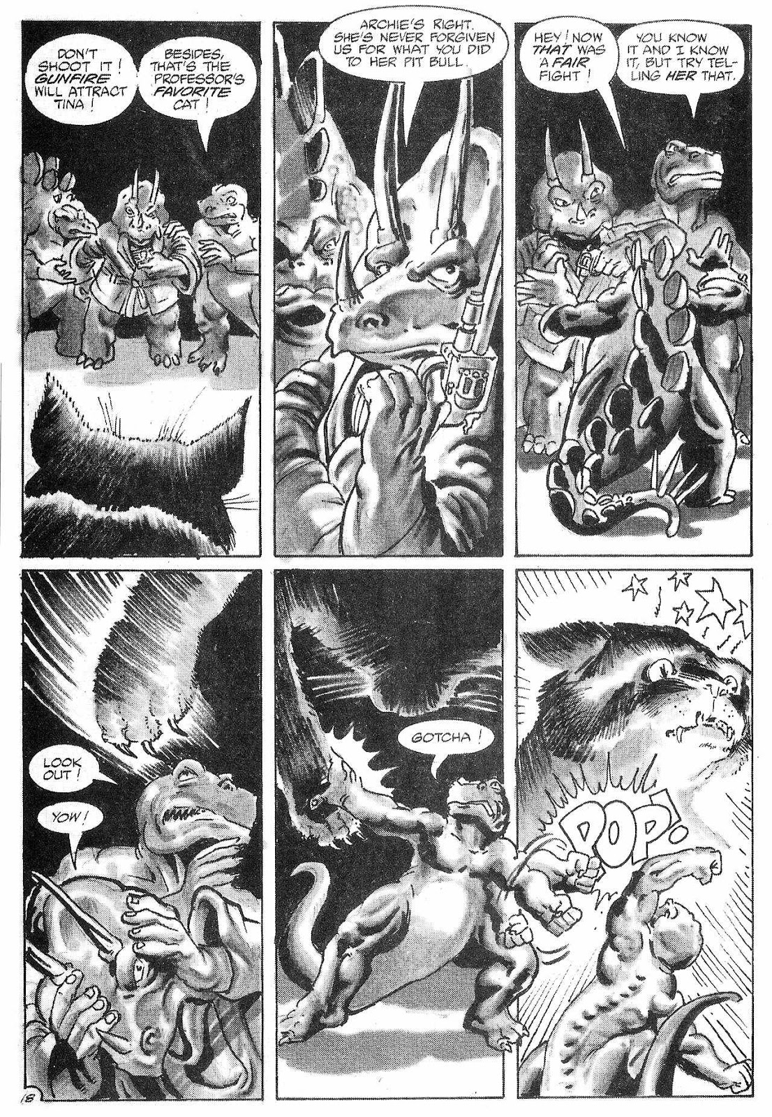 Dinosaurs For Hire (1988) issue 6 - Page 20