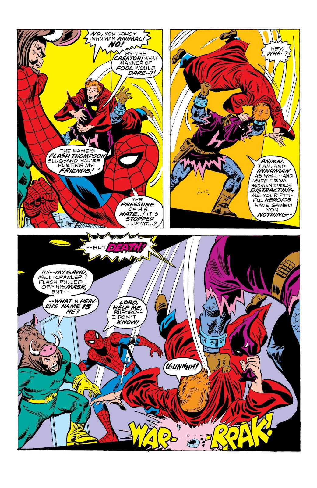 Read online Marvel Masterworks: The Spectacular Spider-Man comic -  Issue # TPB (Part 3) - 44