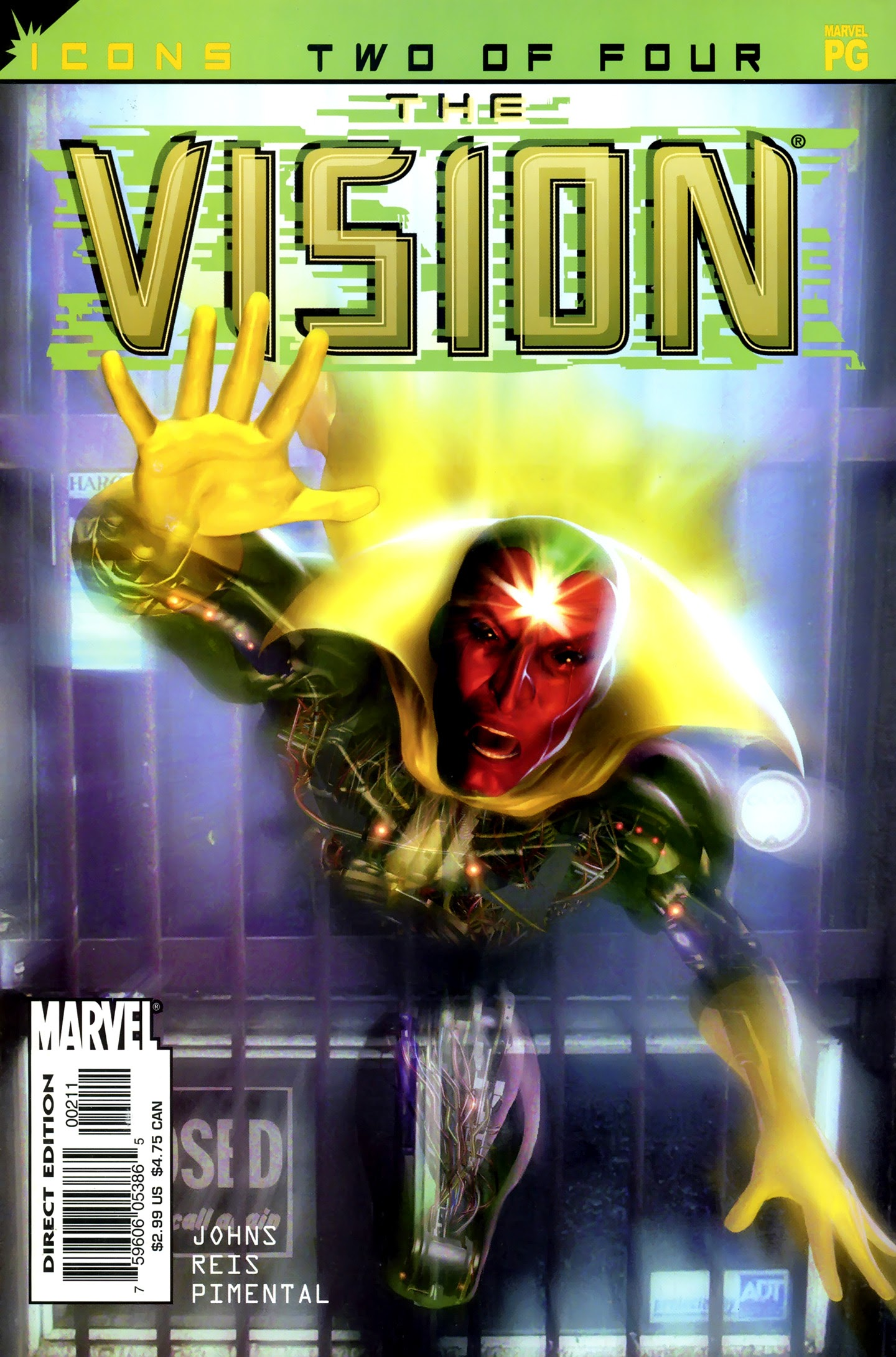 Avengers Icons: The Vision 2 Page 1