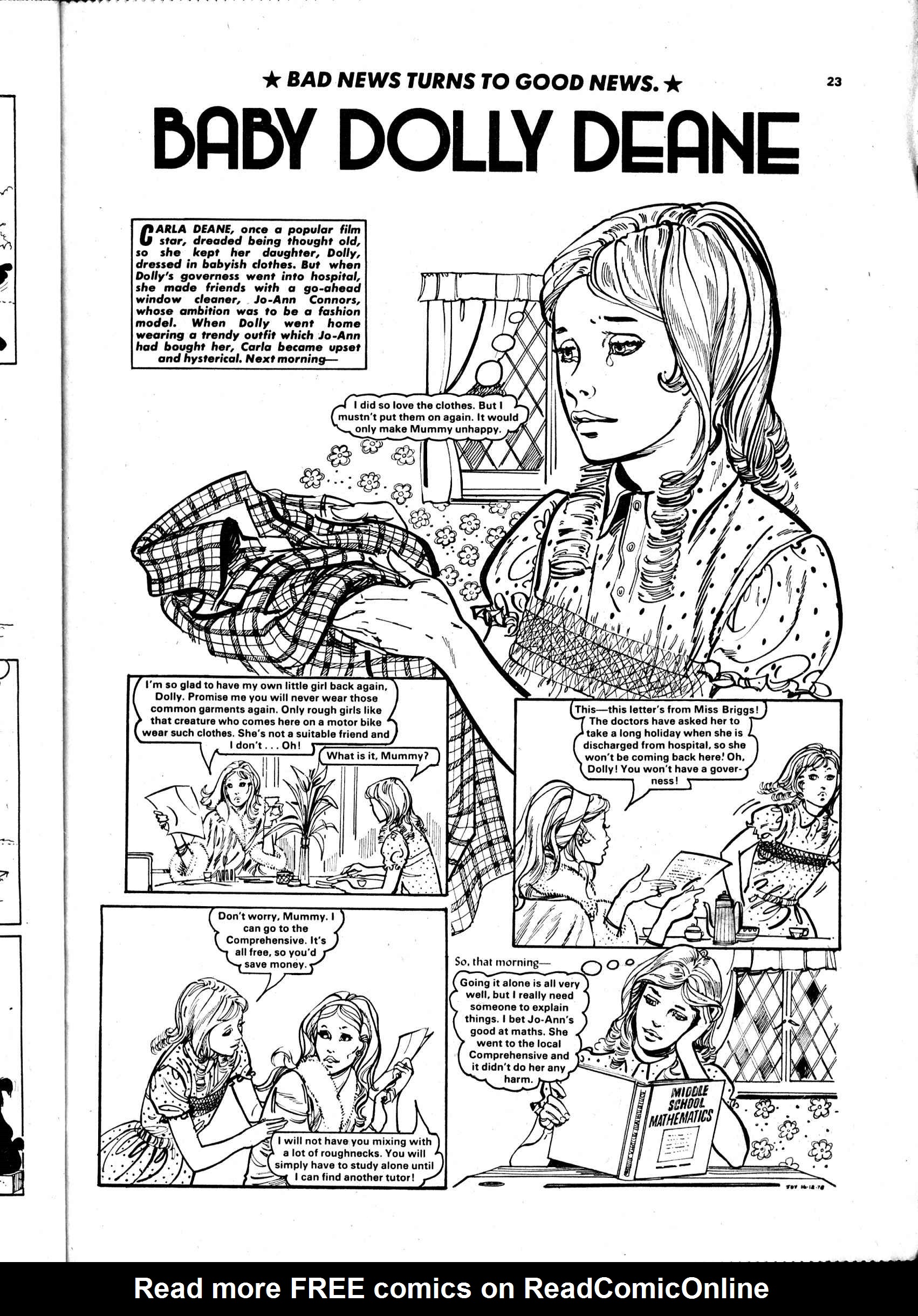 Read online Judy comic -  Issue #988 - 23