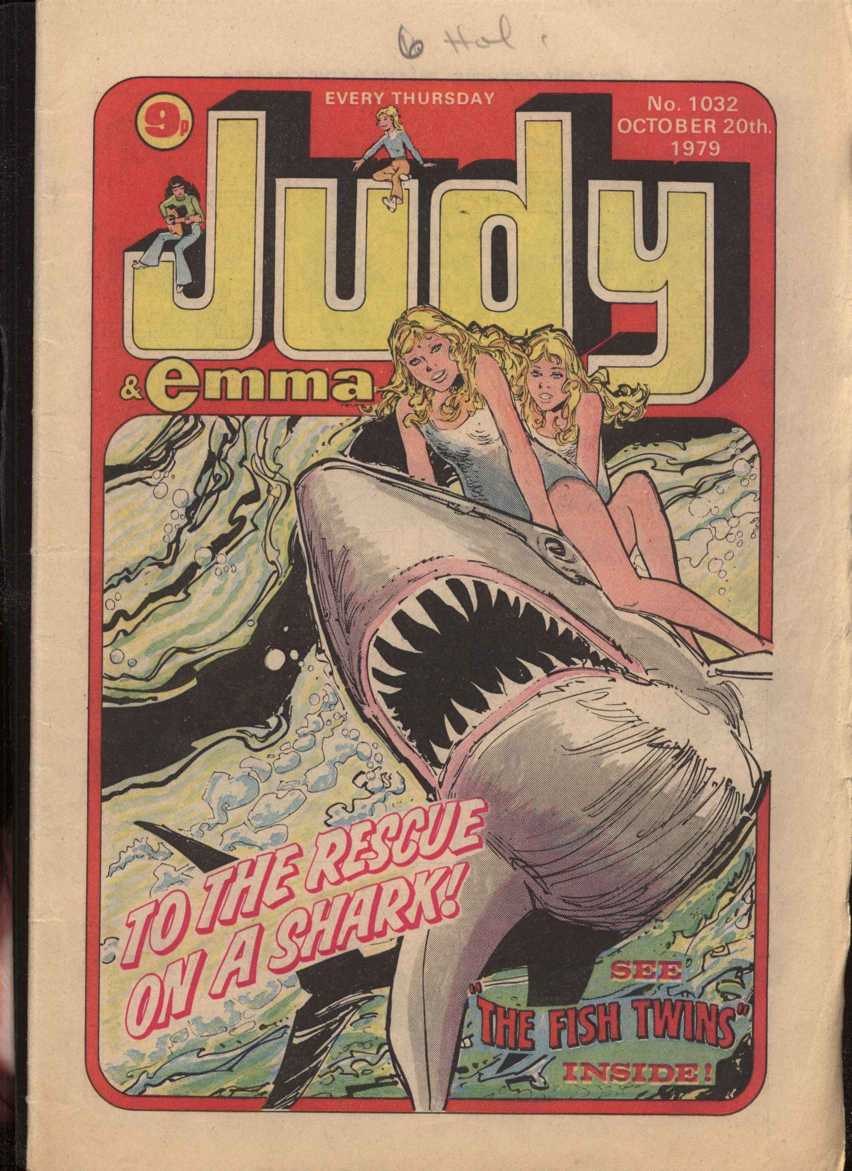 Read online Judy comic -  Issue #1032 - 1