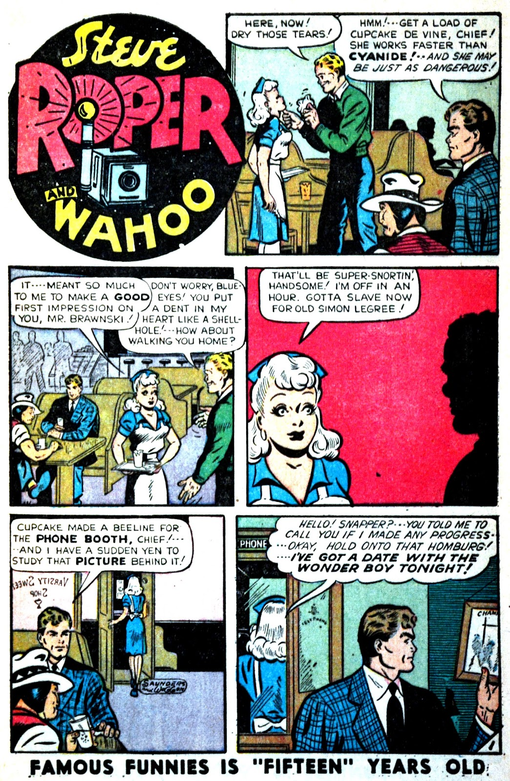 Read online Famous Funnies comic -  Issue #180 - 9