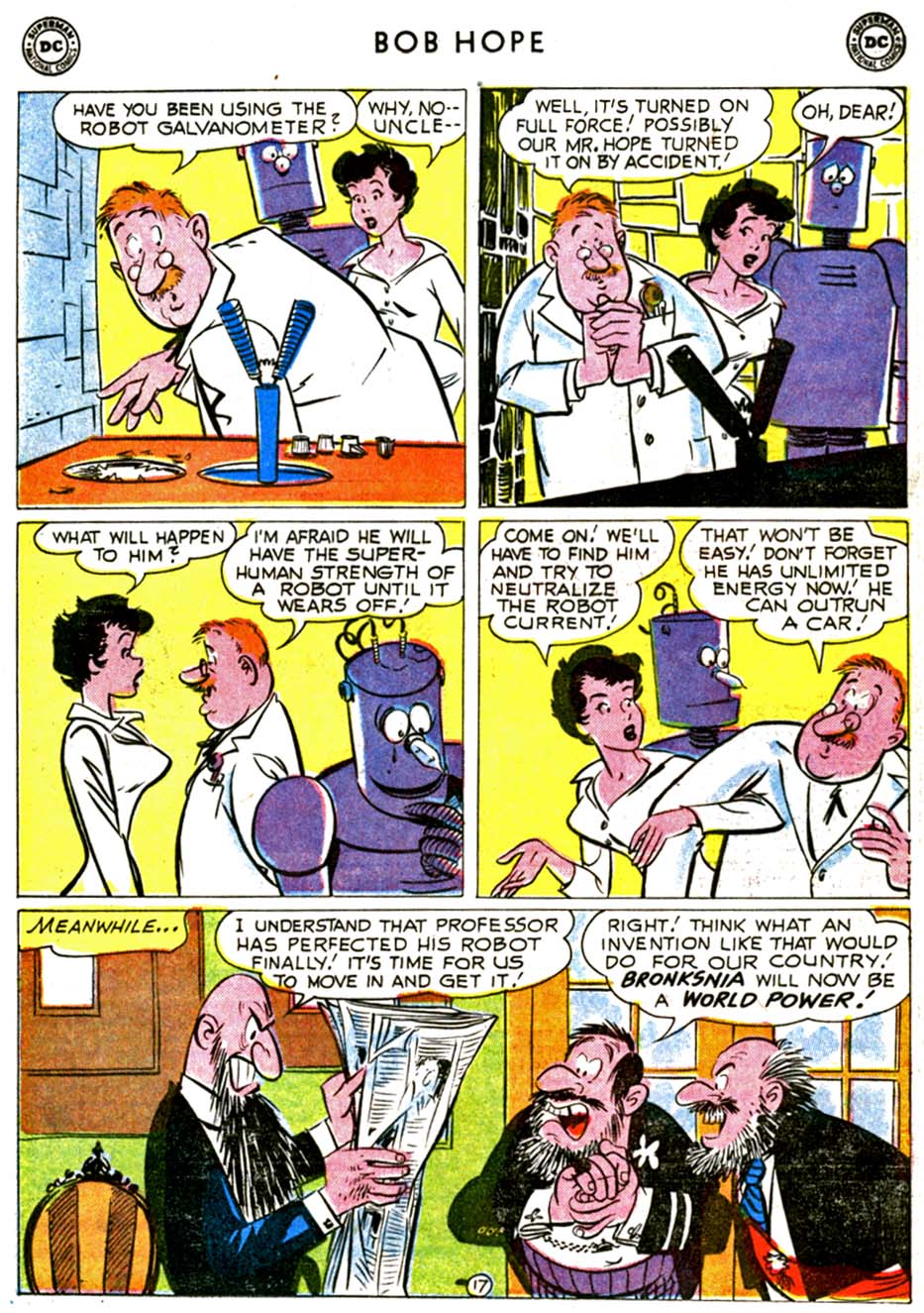 The Adventures of Bob Hope issue 68 - Page 21