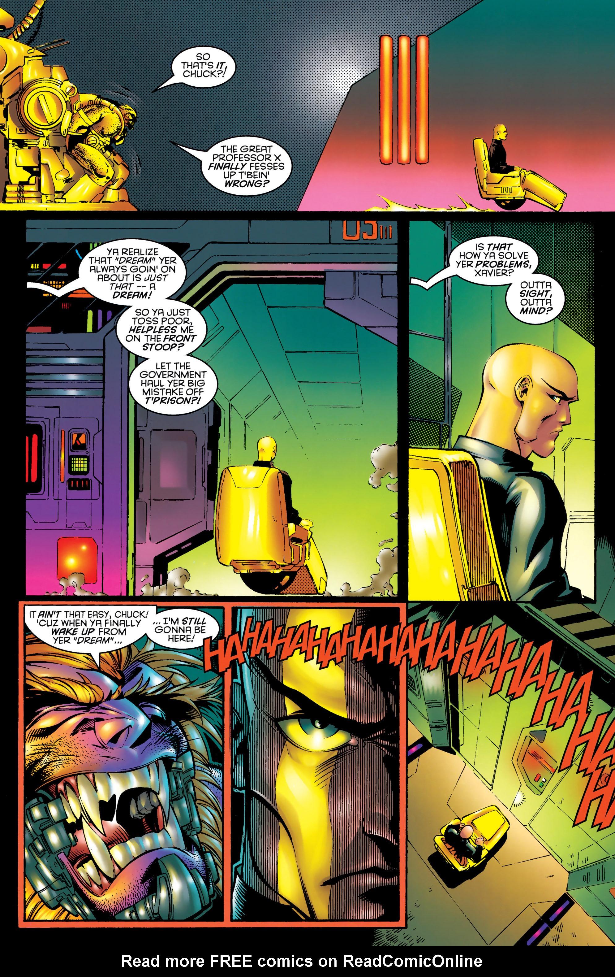 Read online Uncanny X-Men (1963) comic -  Issue #328 - 9