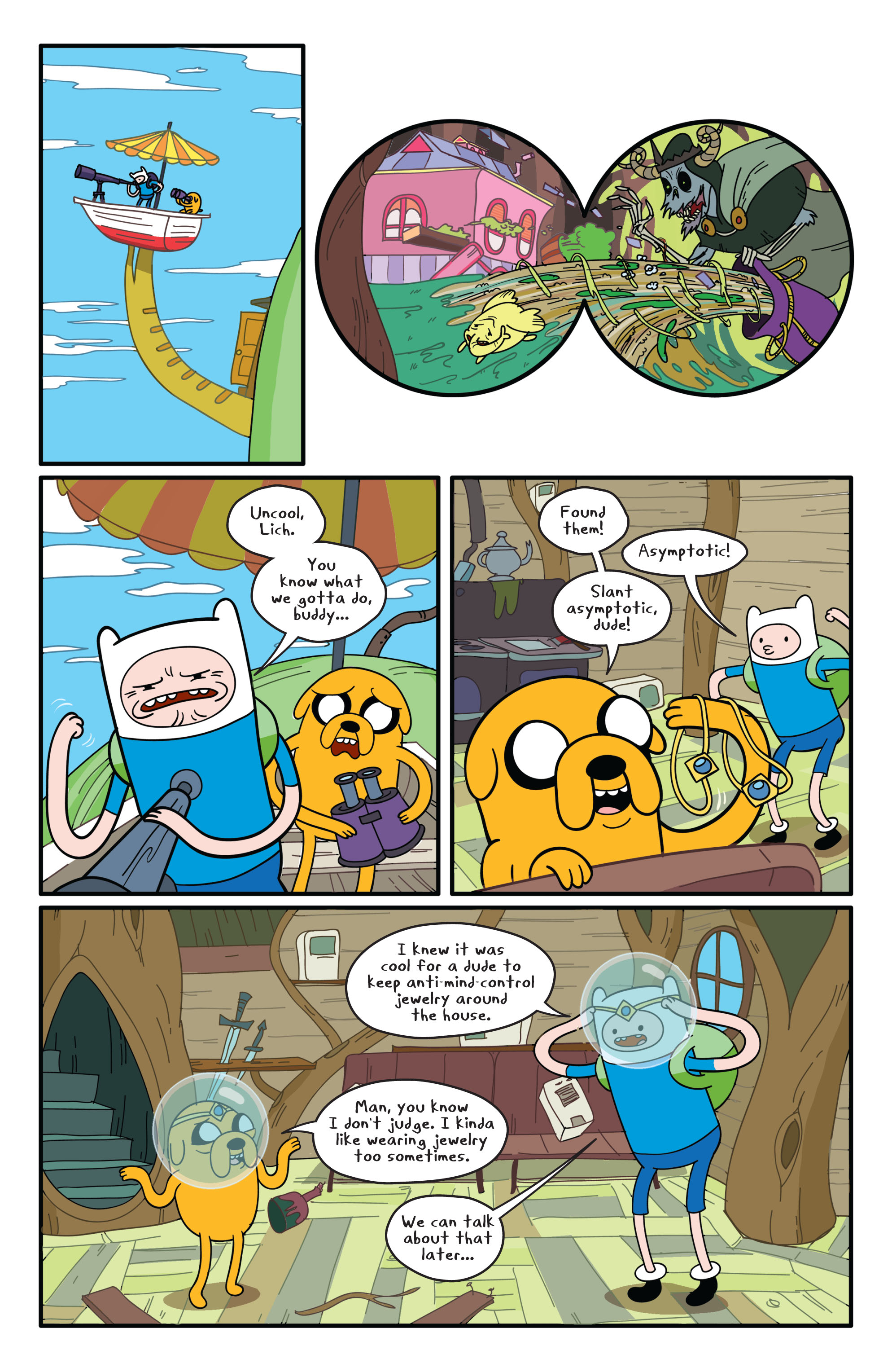 Read online Adventure Time comic -  Issue #1 - 12