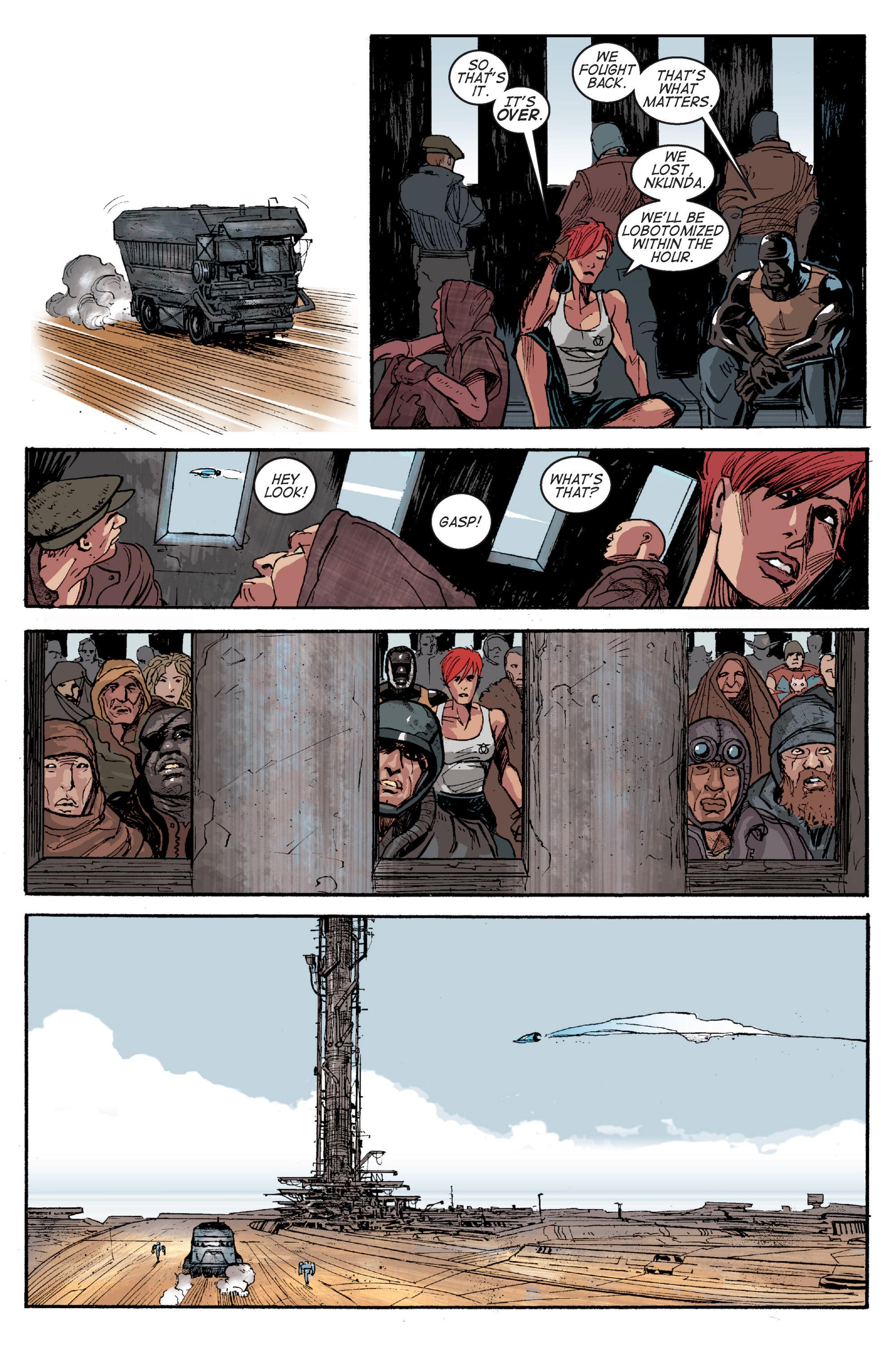 Read online Planetoid comic -  Issue # TPB - 155
