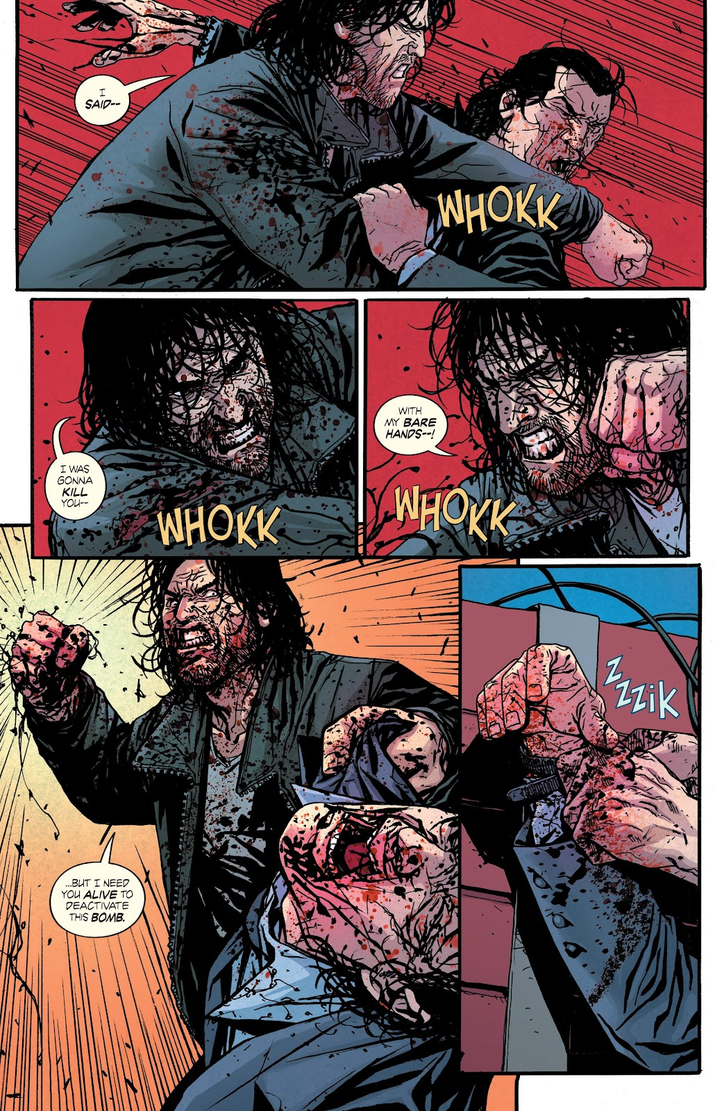 Read online Hardcore comic -  Issue #5 - 16