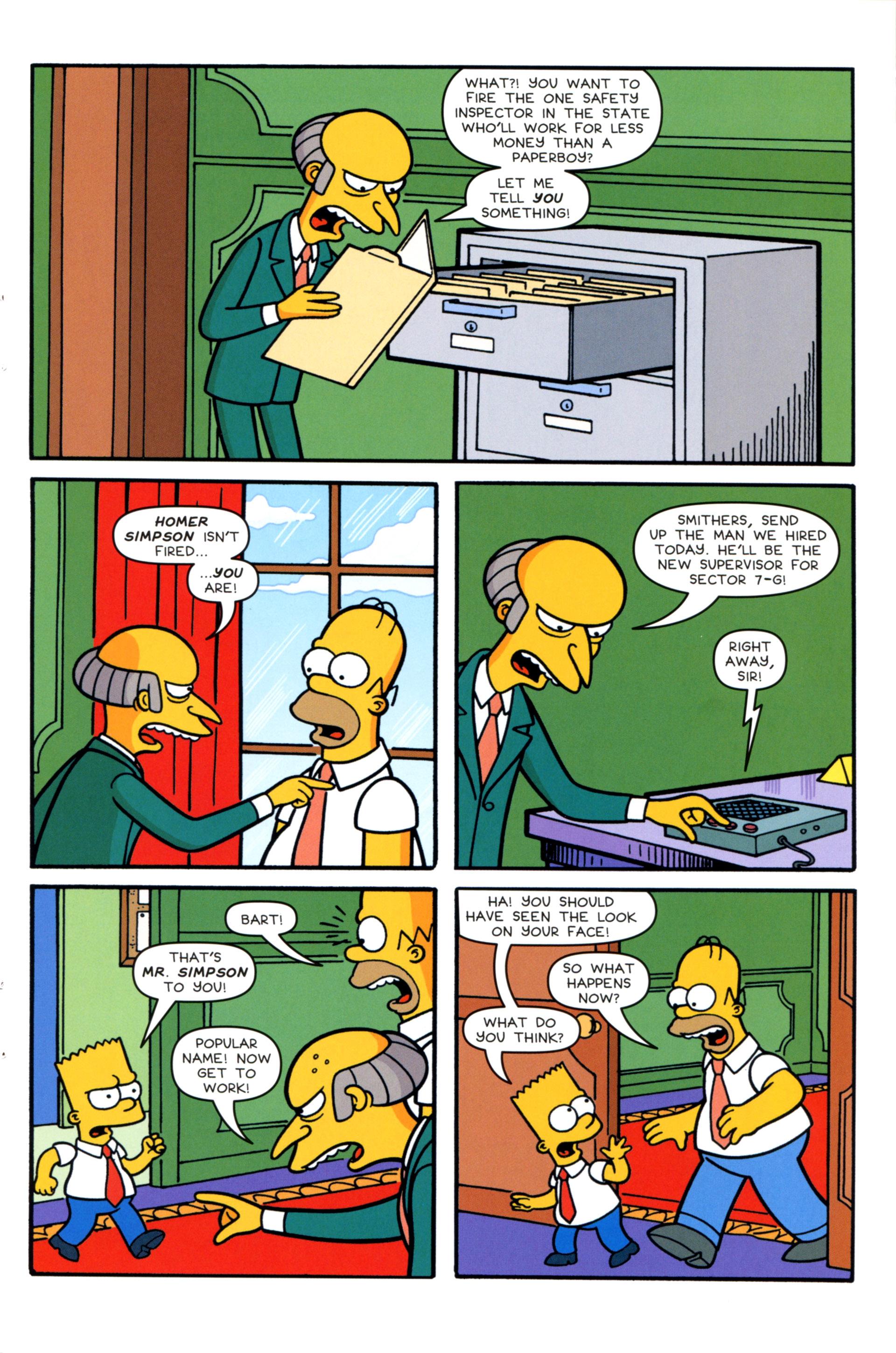 Read online Simpsons Comics comic -  Issue #202 - 23