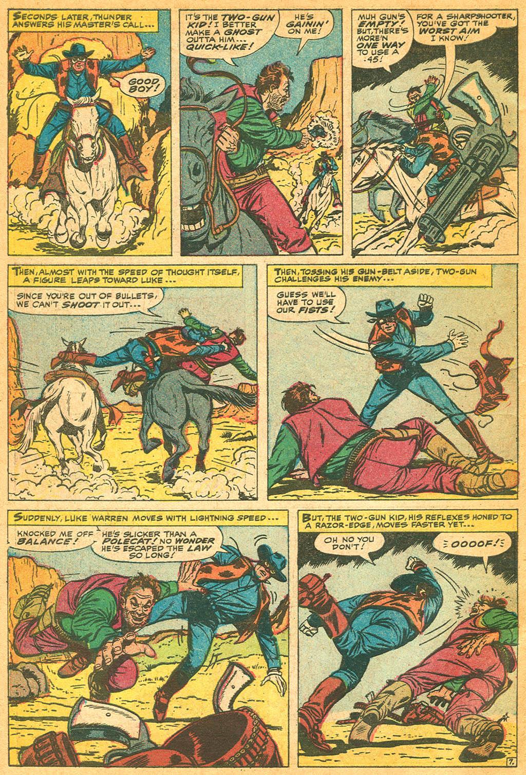 Read online Two-Gun Kid comic -  Issue #87 - 10