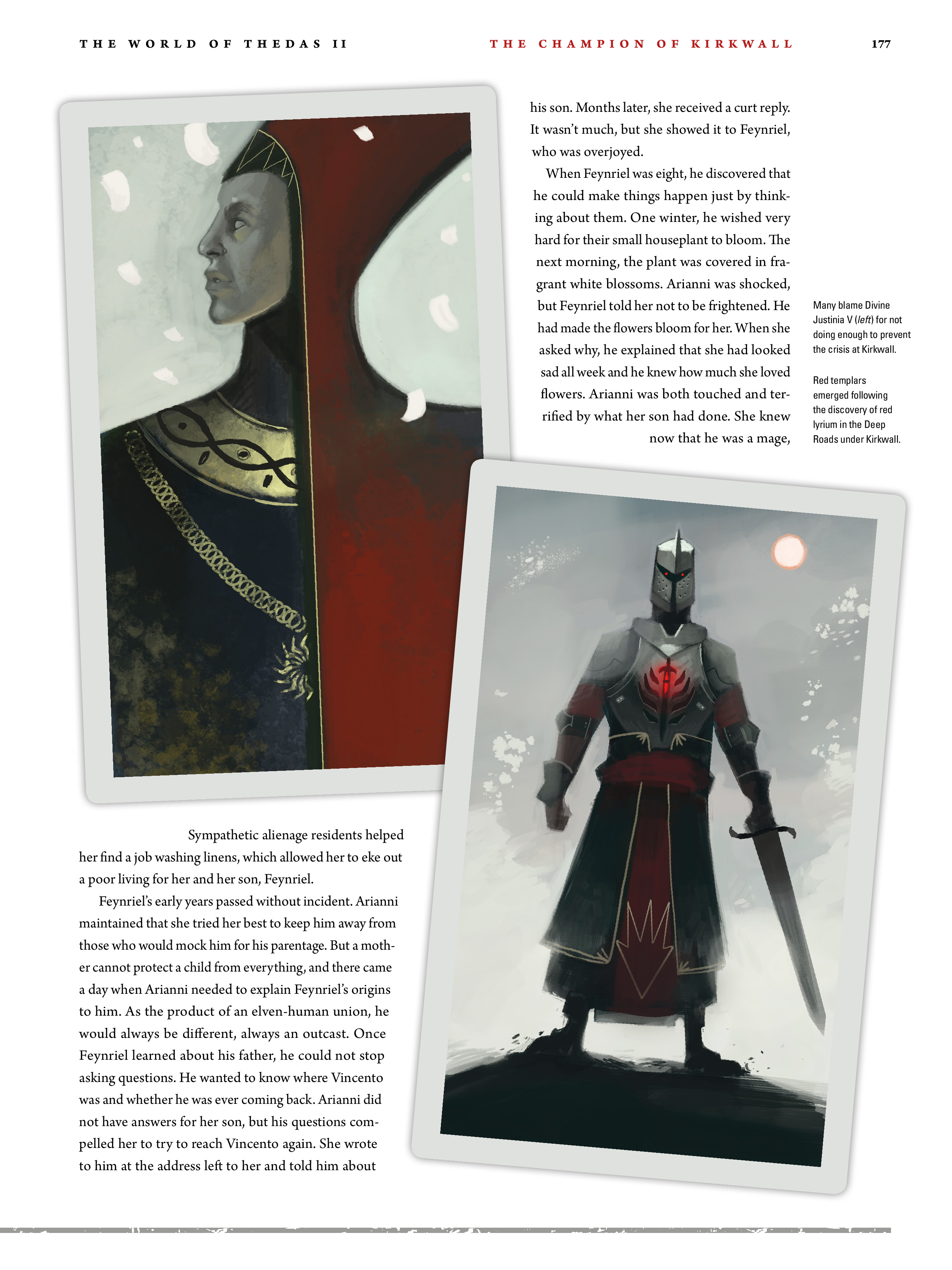 Read online Dragon Age: The World of Thedas comic -  Issue # TPB 2 - 172