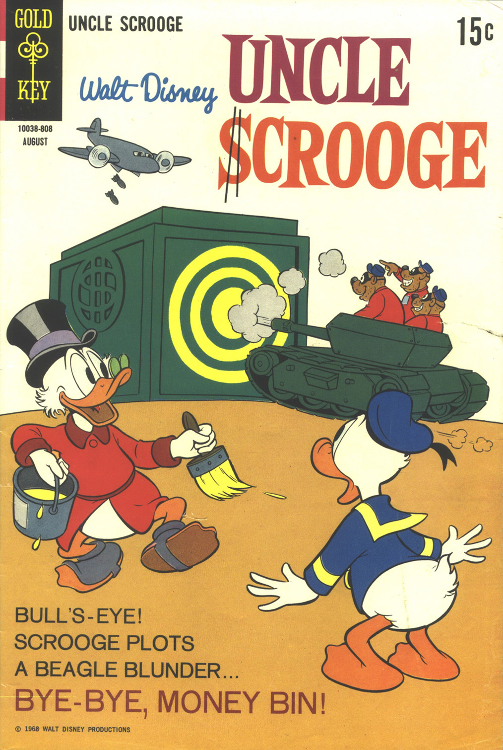Read online Uncle Scrooge (1953) comic -  Issue #76 - 1