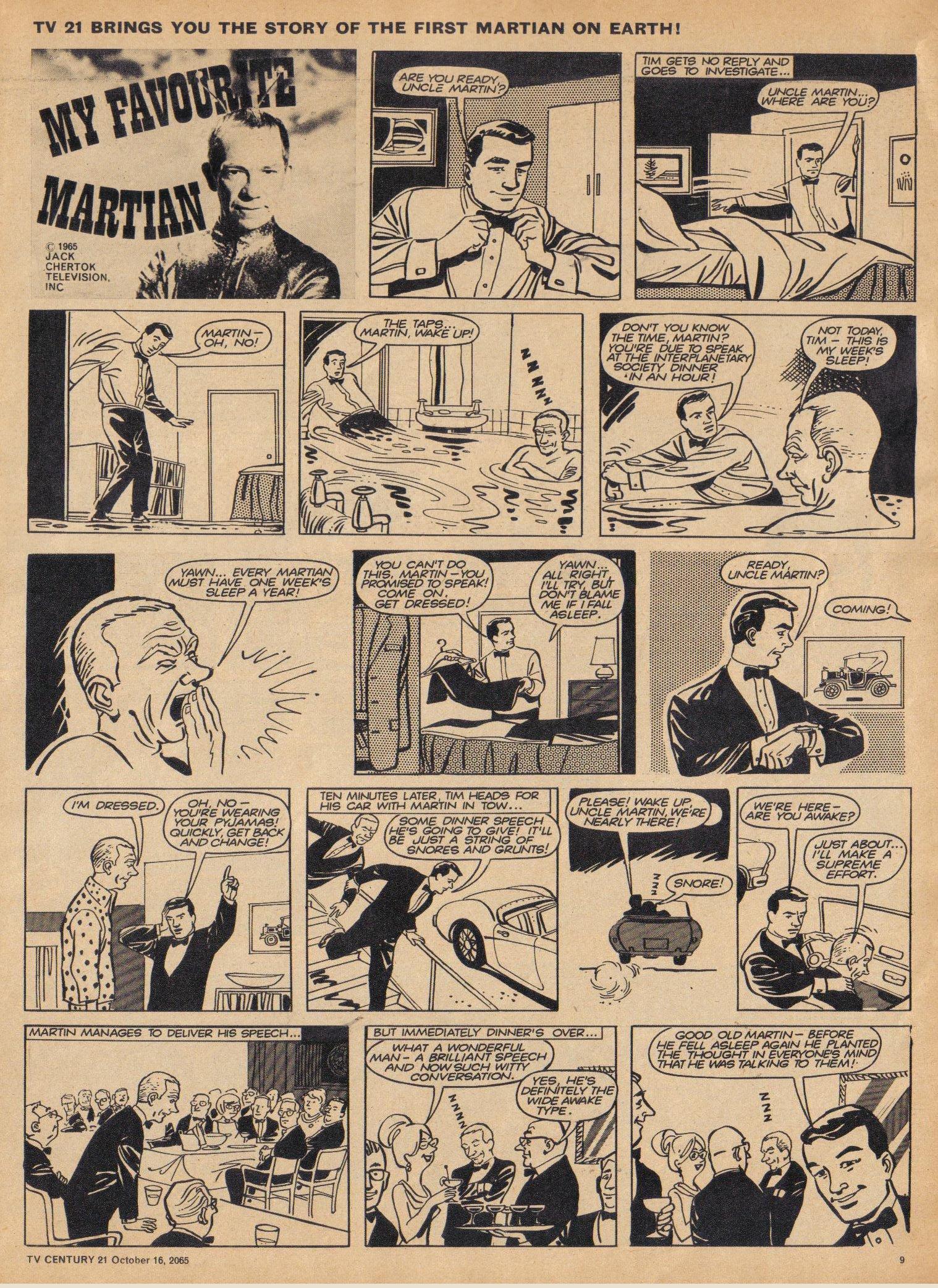 Read online TV Century 21 (TV 21) comic -  Issue #39 - 9