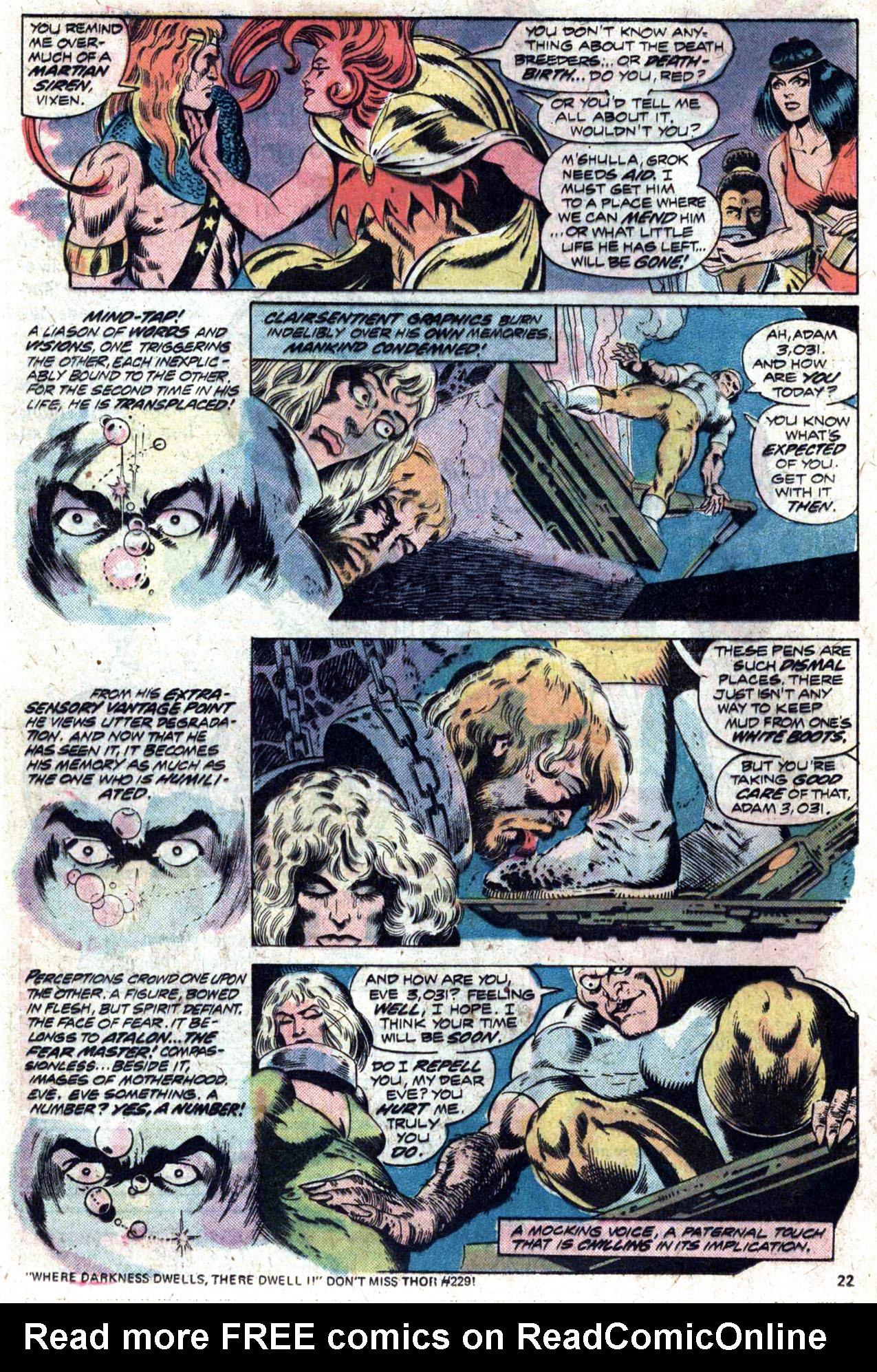 Read online Amazing Adventures (1970) comic -  Issue #27 - 23