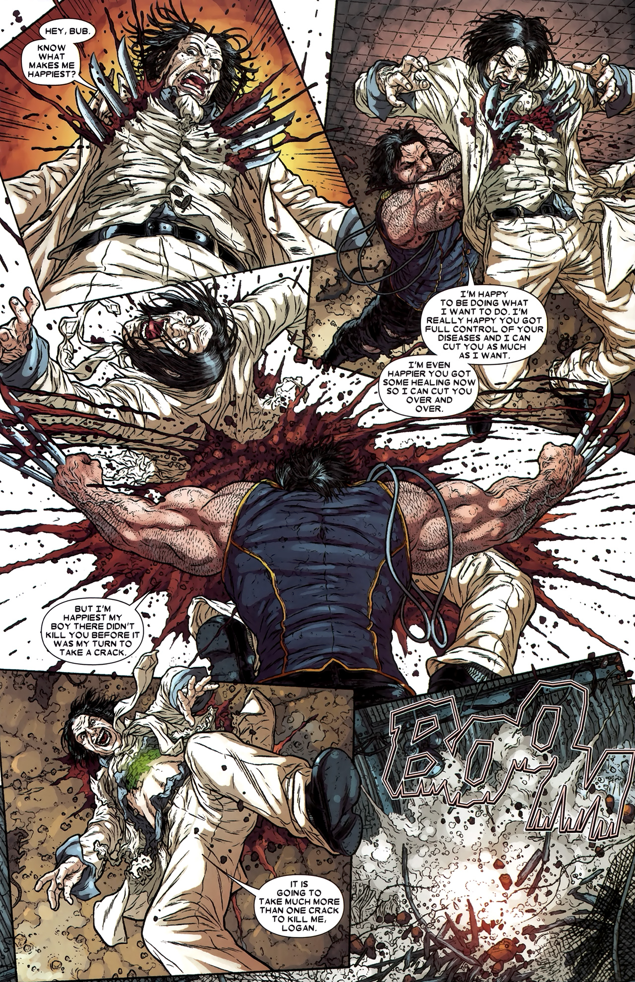 Read online Wolverine: The Best There Is comic -  Issue #11 - 23