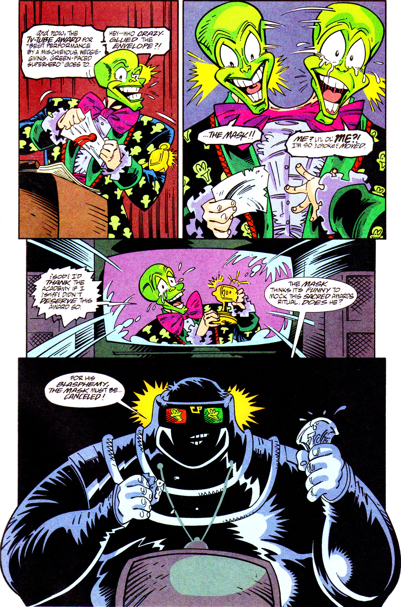 Read online Adventures Of The Mask comic -  Issue #7 - 5