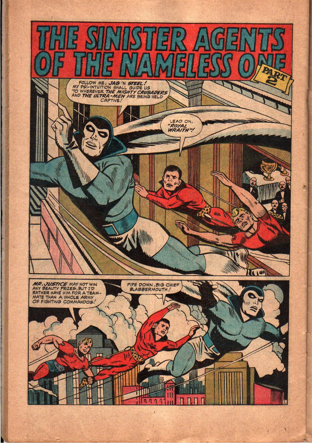 The Mighty Crusaders (1965) Issue #5 #5 - English 16