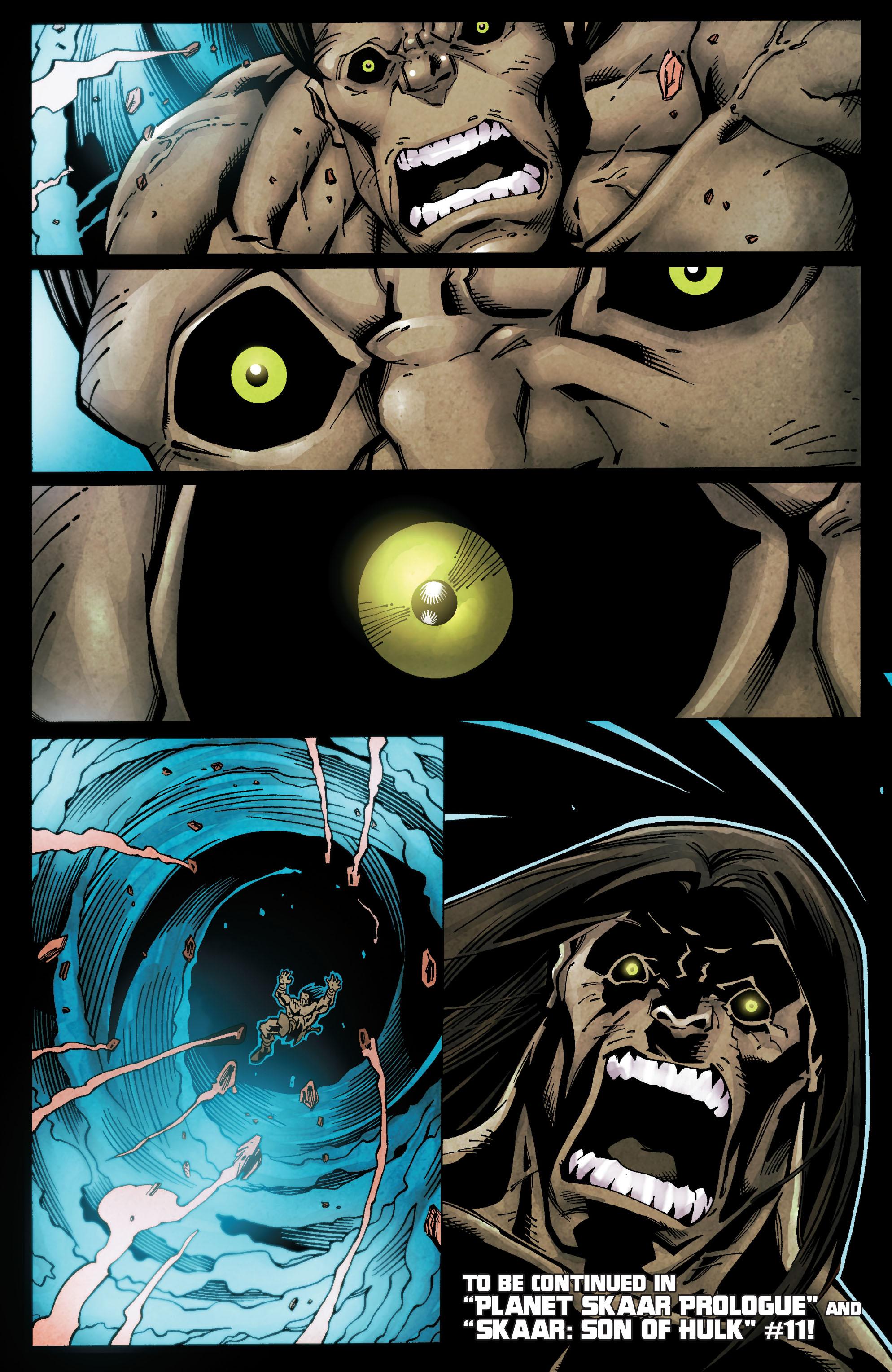 Read online Skaar: Son of Hulk comic -  Issue #10 - 26