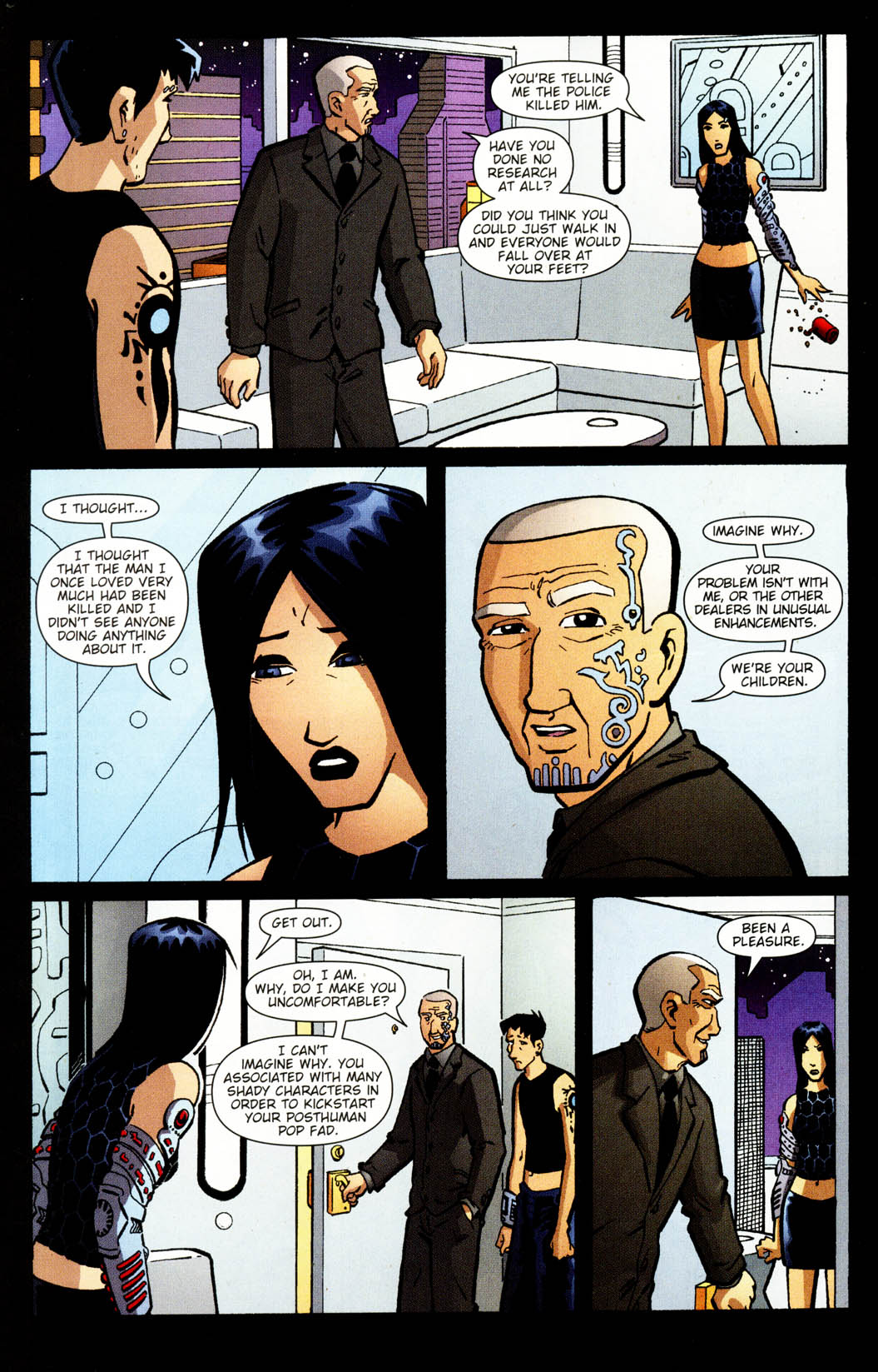 Read online Mek comic -  Issue #2 - 19