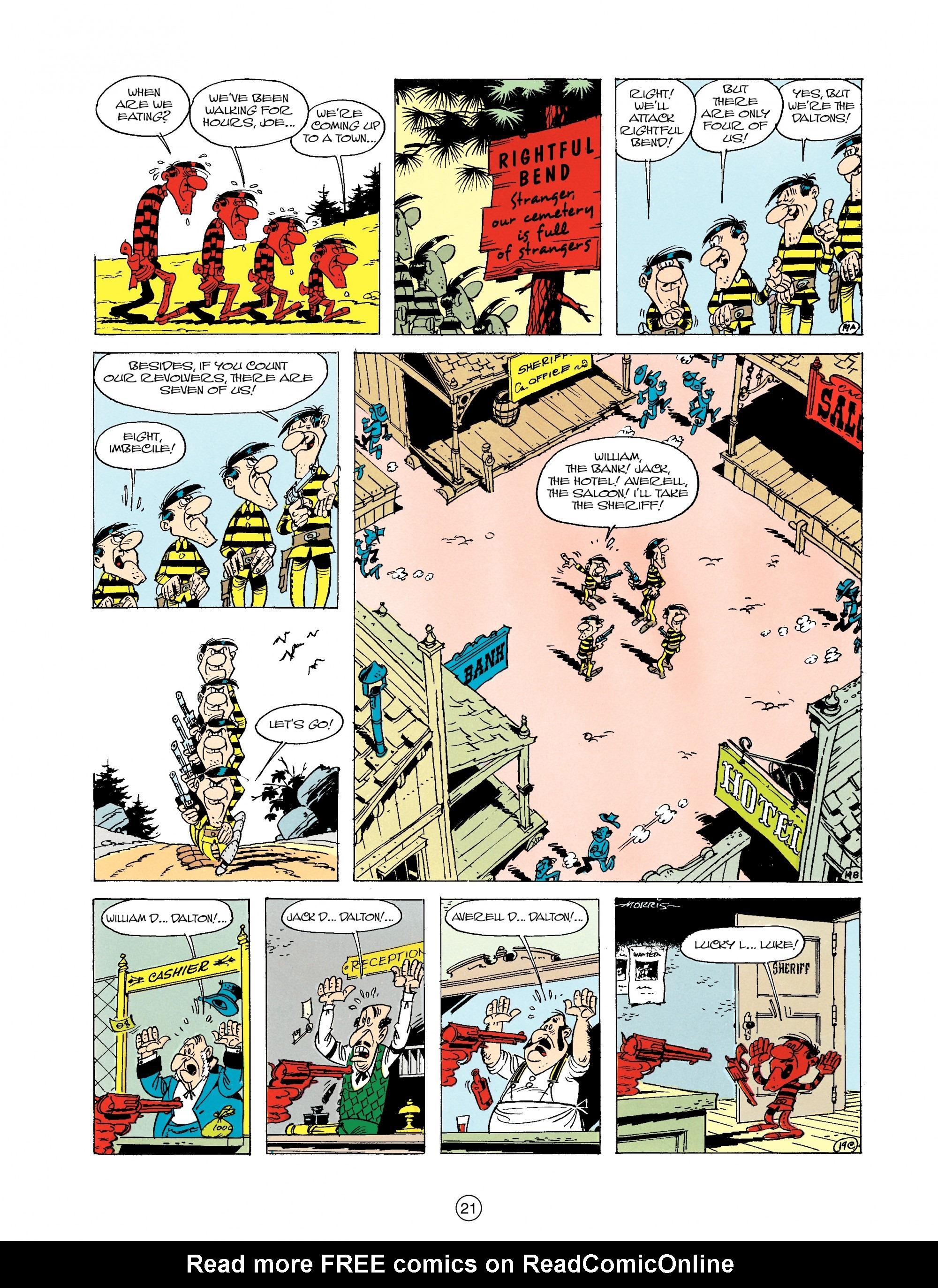 Read online A Lucky Luke Adventure comic -  Issue #19 - 21