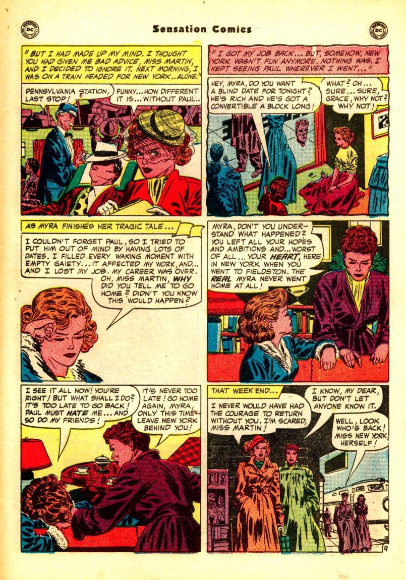 Read online Sensation (Mystery) Comics comic -  Issue #99 - 47