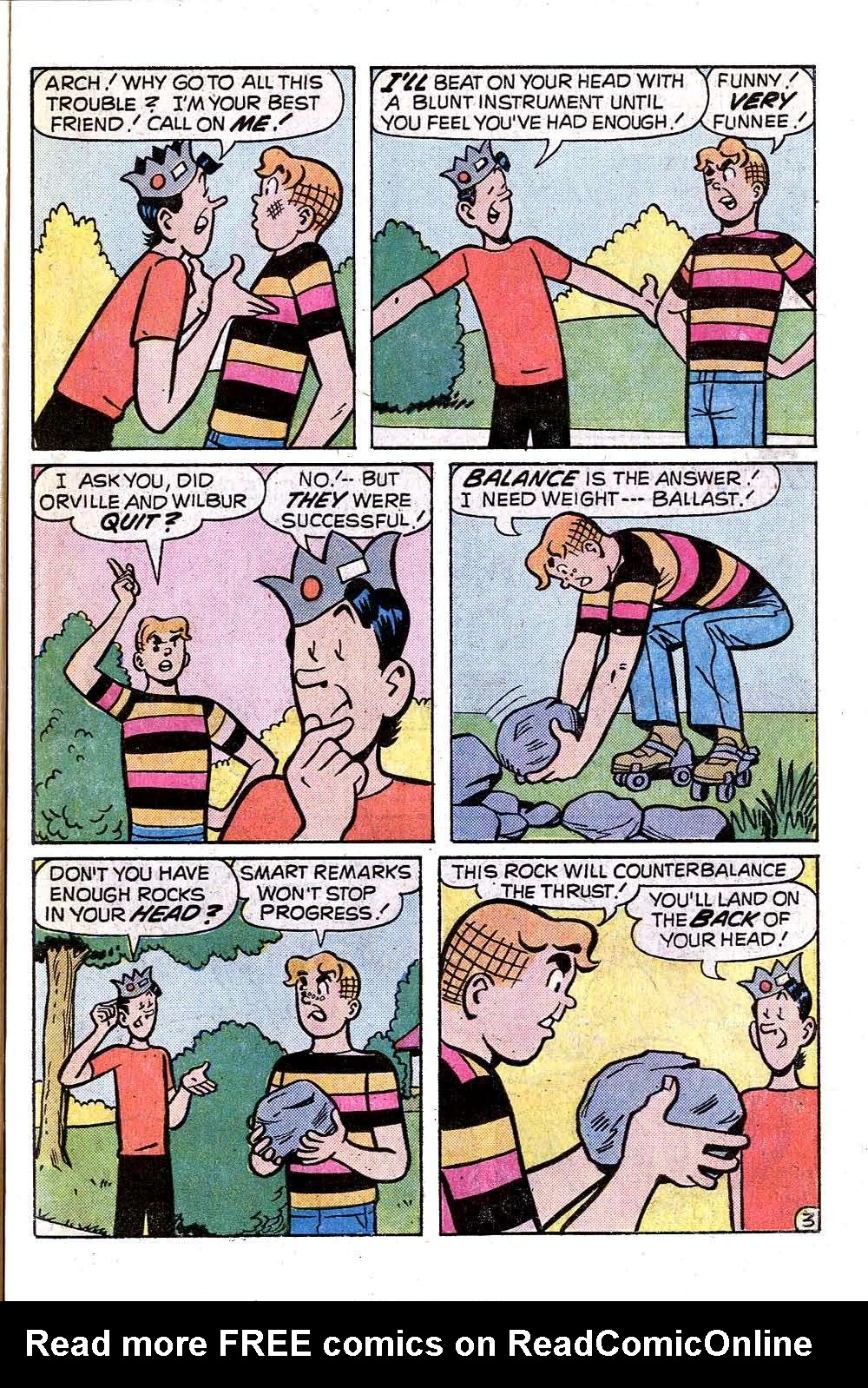 Read online Archie (1960) comic -  Issue #249 - 31