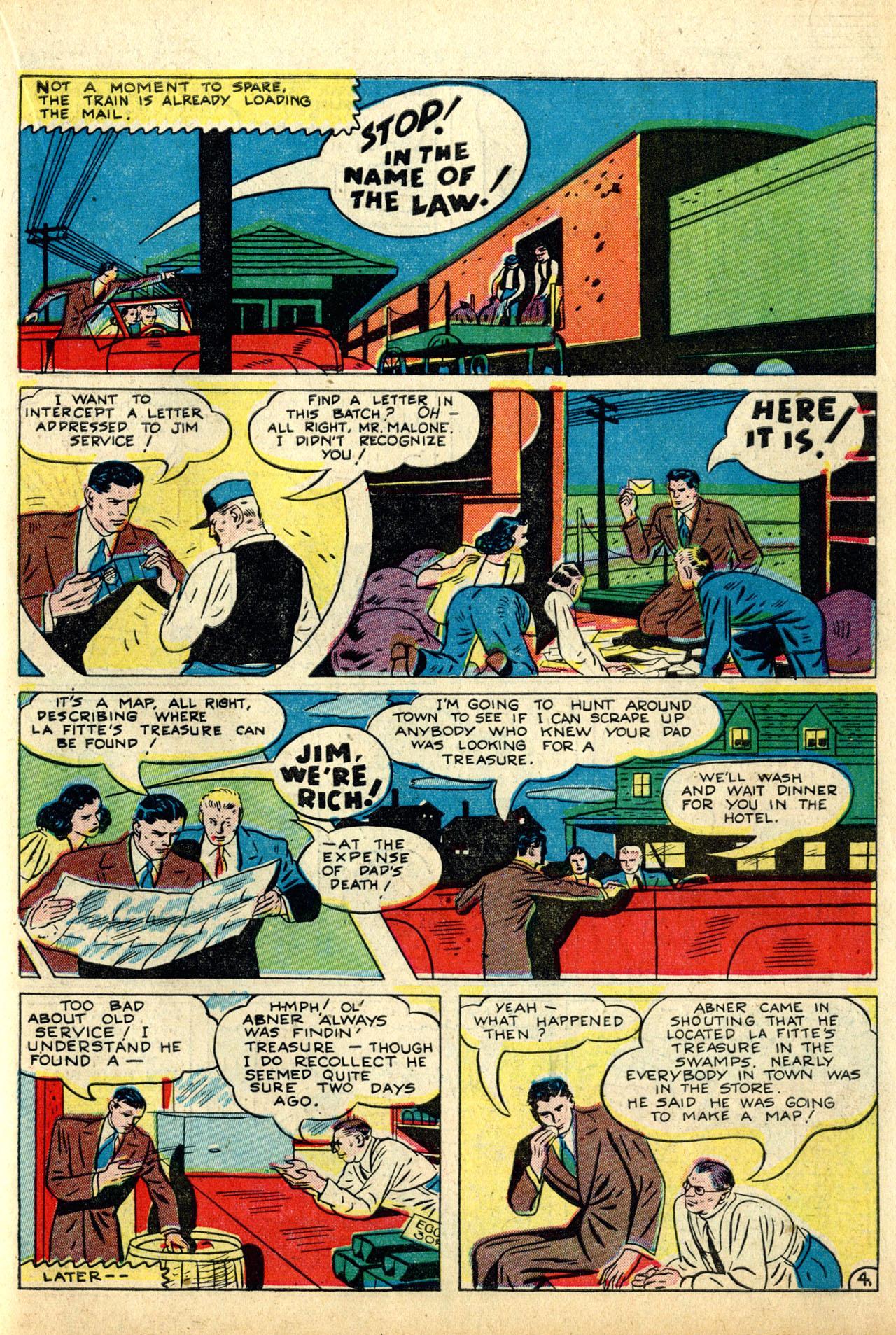 Read online Detective Comics (1937) comic -  Issue #50 - 55