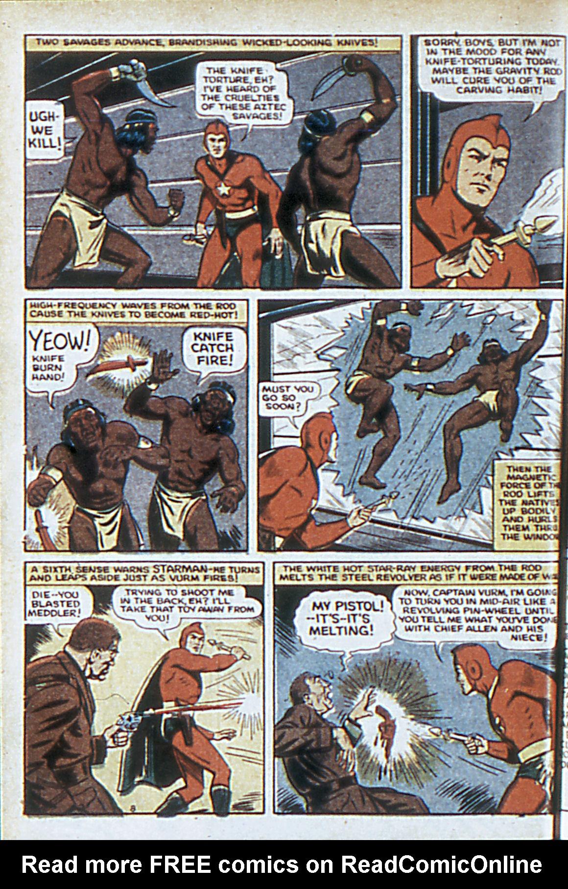 Read online Adventure Comics (1938) comic -  Issue #63 - 11